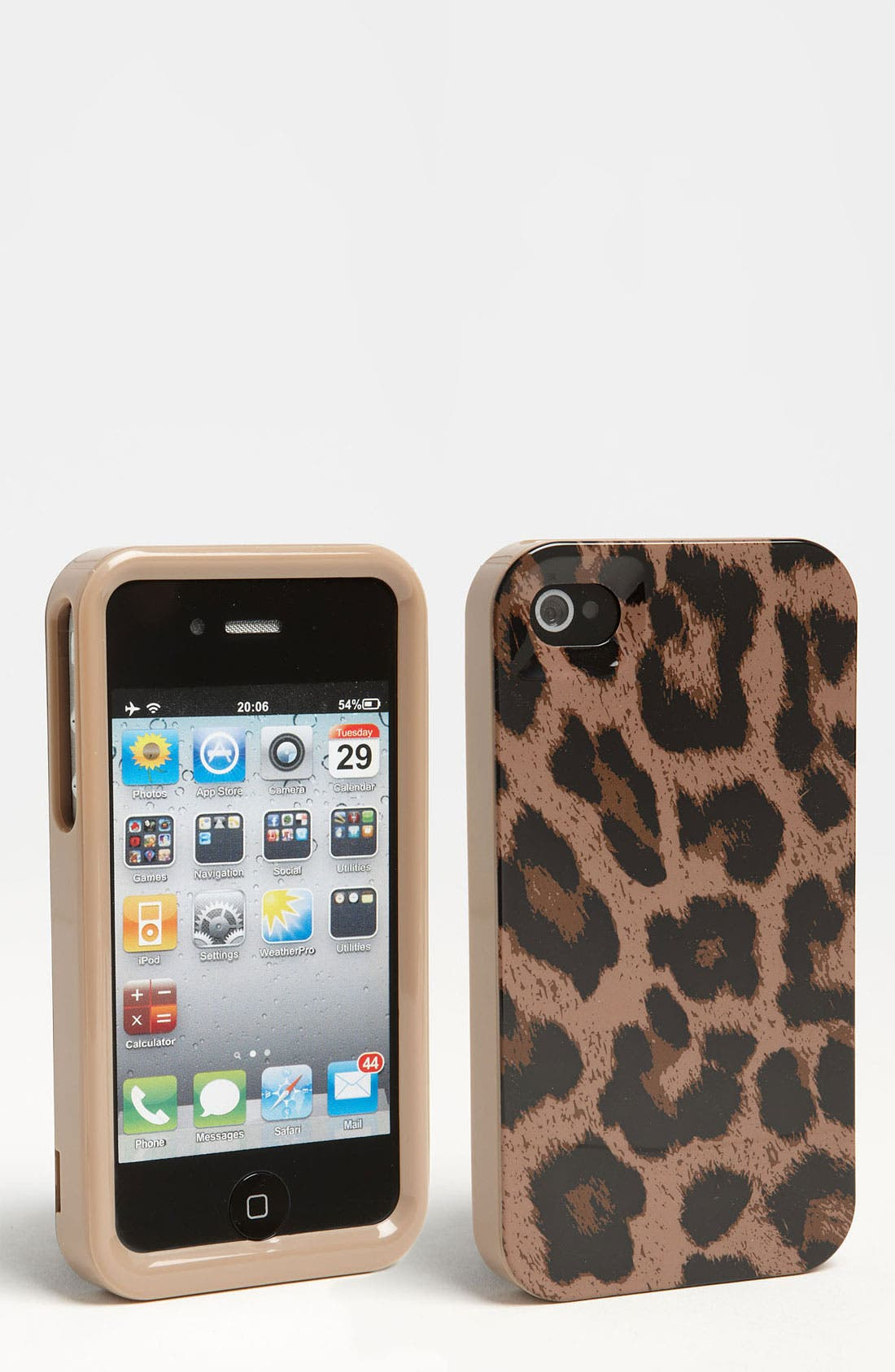 Alternate Image 1 Selected - MICHAEL Michael Kors Signature iPhone 4 & 4S Case