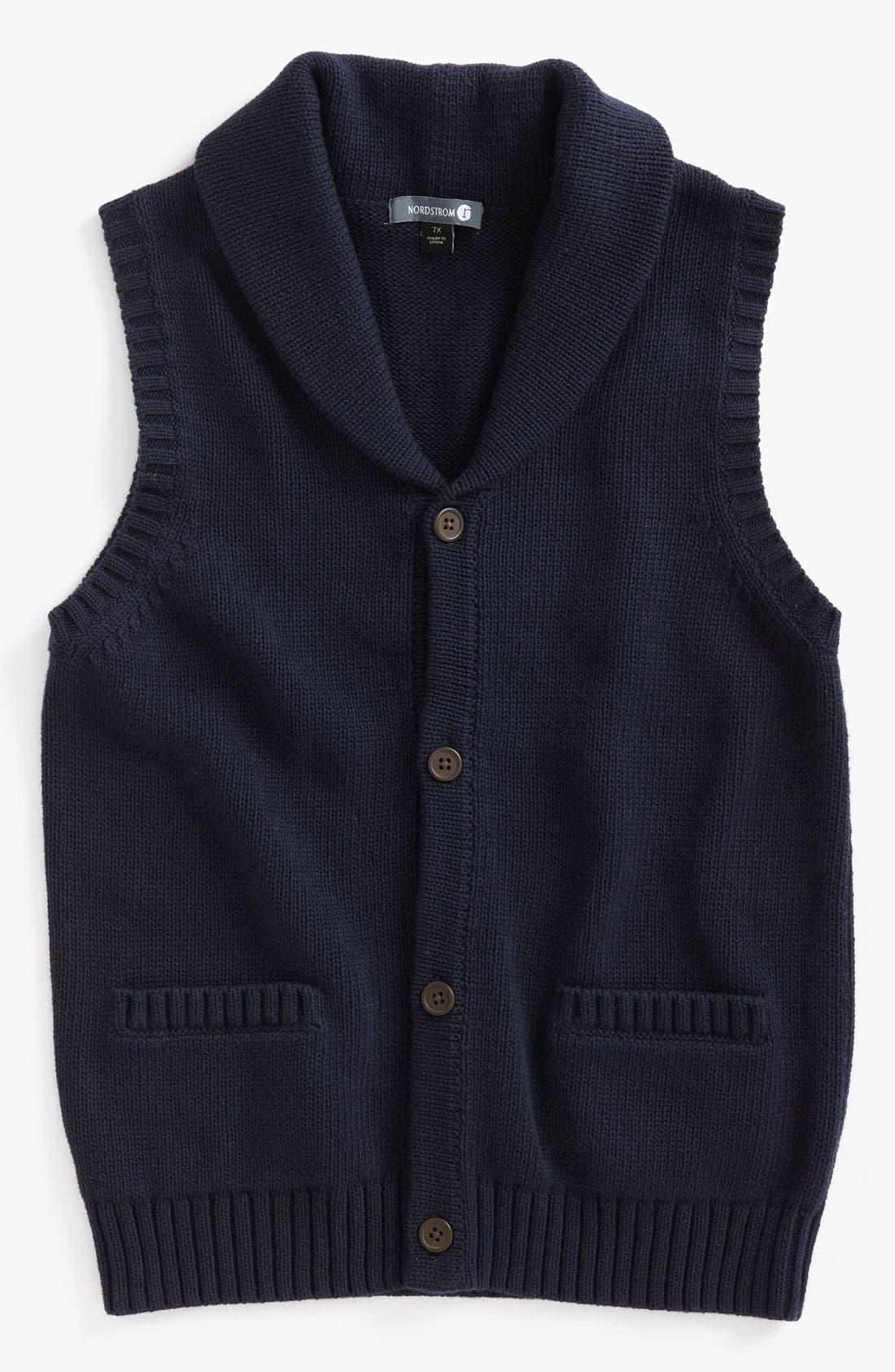 Main Image - Nordstrom 'Chandler' Sweater Vest (Big Boys)