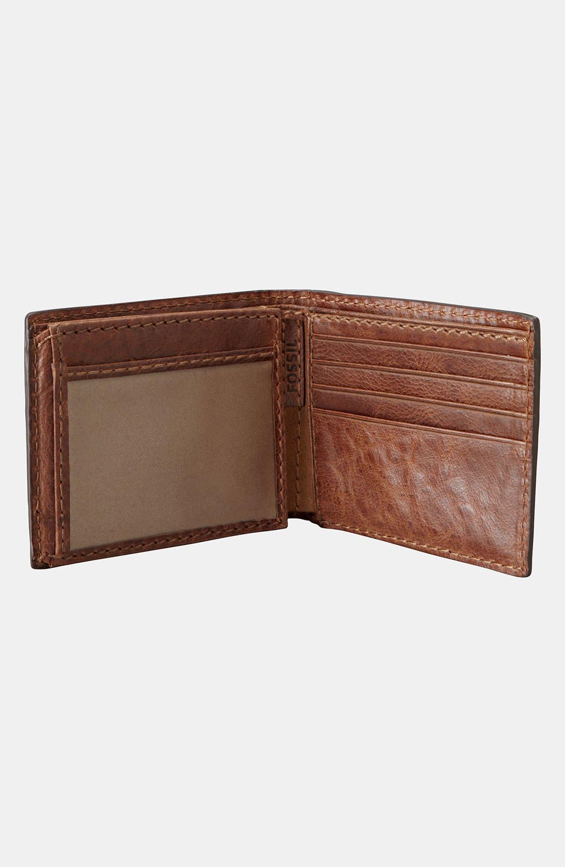 Main Image - Fossil 'Haden' Traveler Wallet