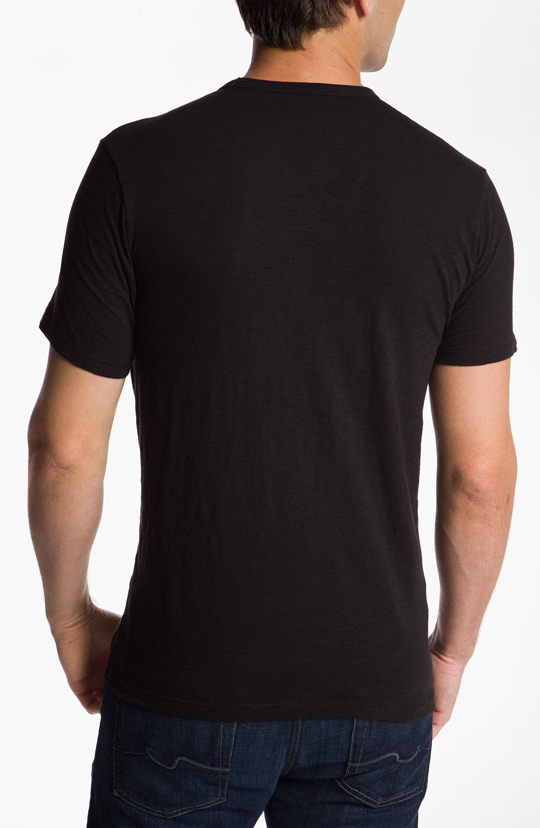 Alternate Image 2  - 47 Brand 'Baltimore Ravens' Slubbed Crewneck T-Shirt