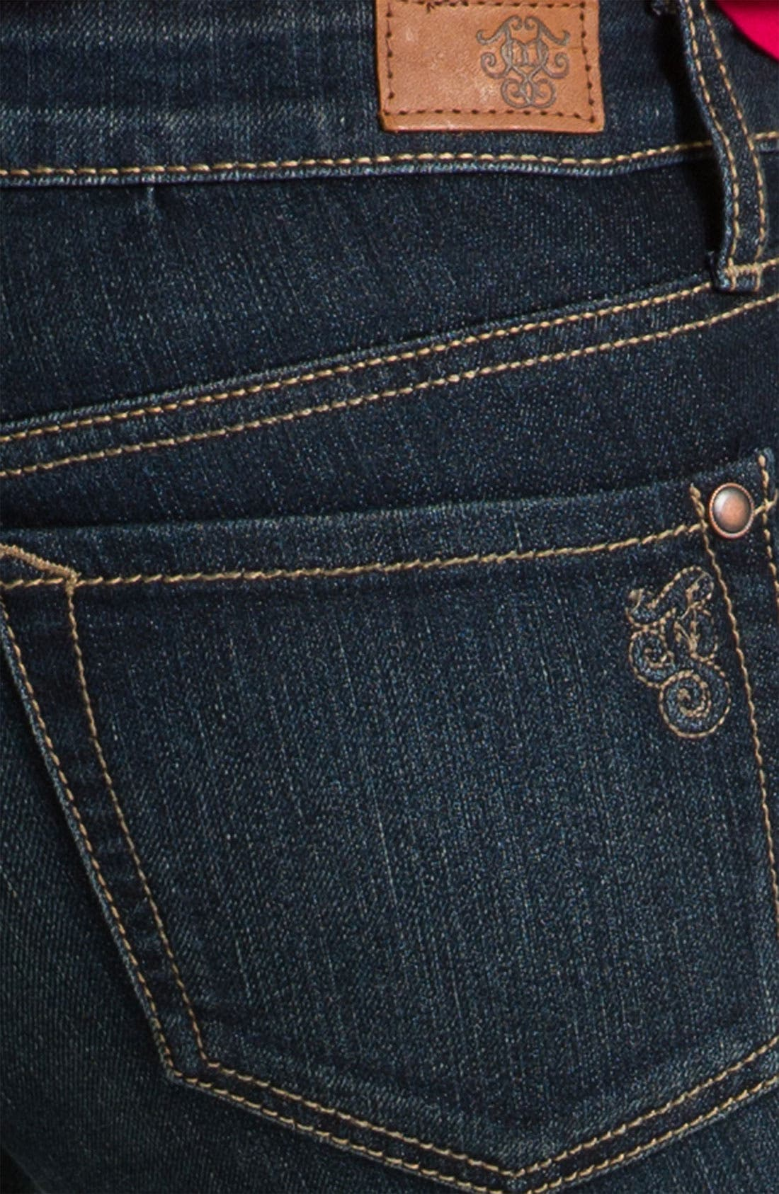 Alternate Image 3  - Jessica Simpson 'Forever' Skinny Jeans (Online Only)