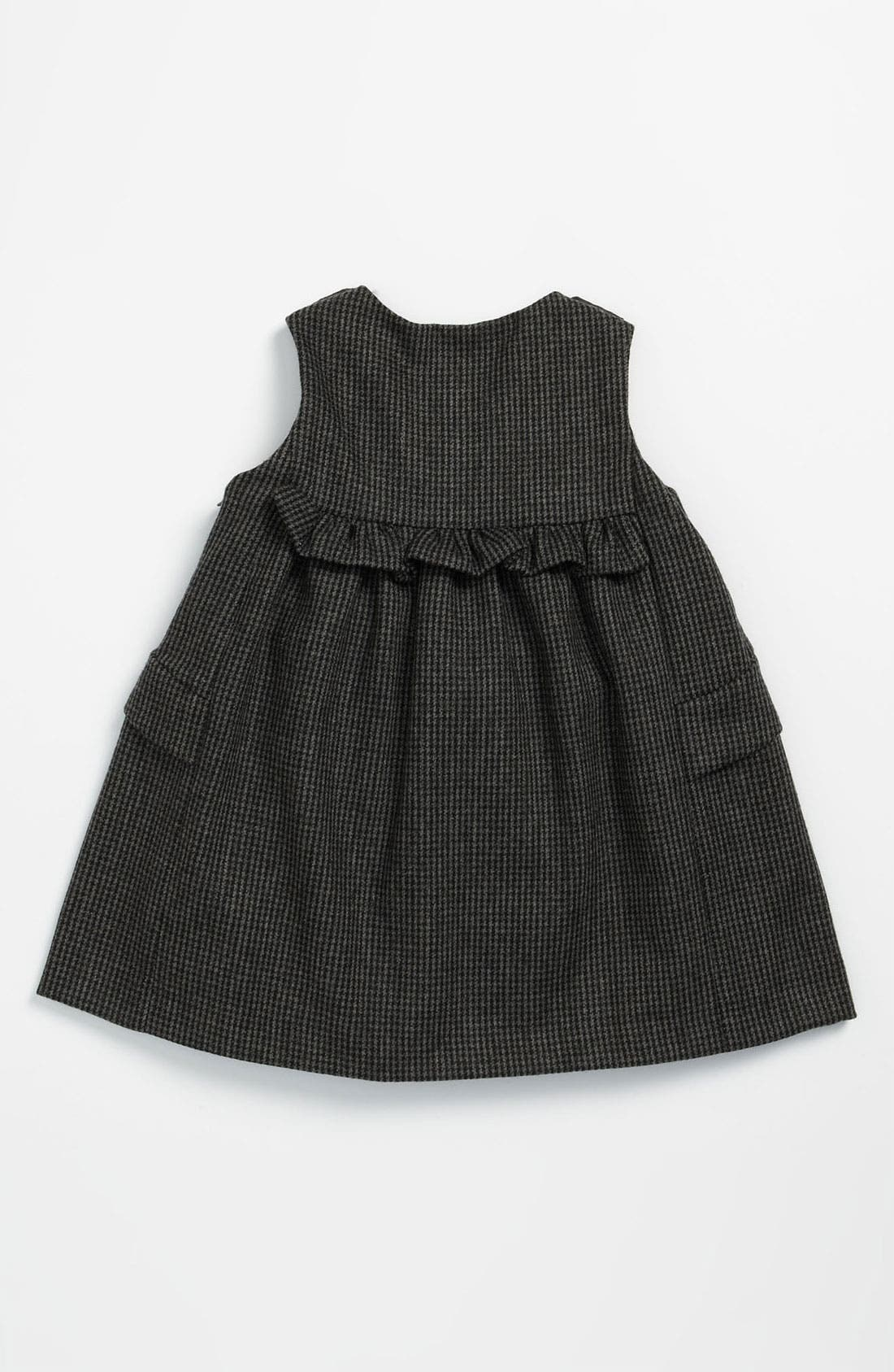 Alternate Image 2  - Marie-Chantal Houndstooth Wool & Cotton Dress