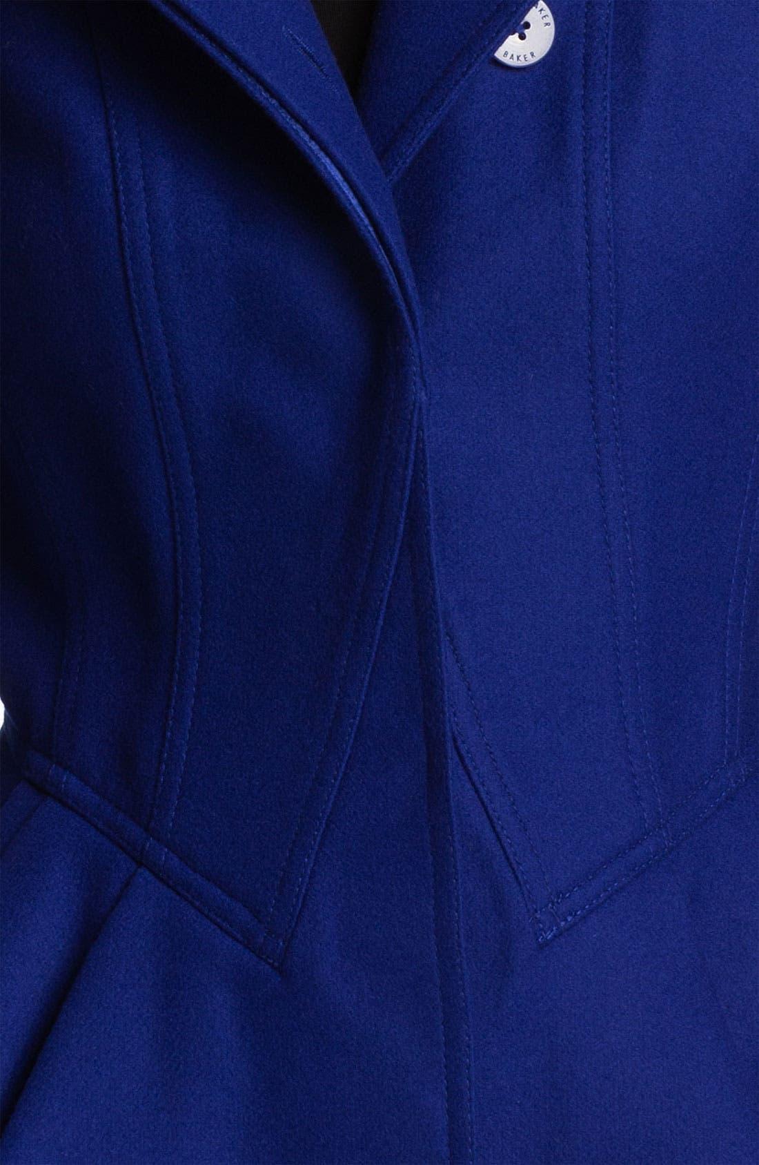 Alternate Image 3  - Ted Baker London Peplum Wool Jacket