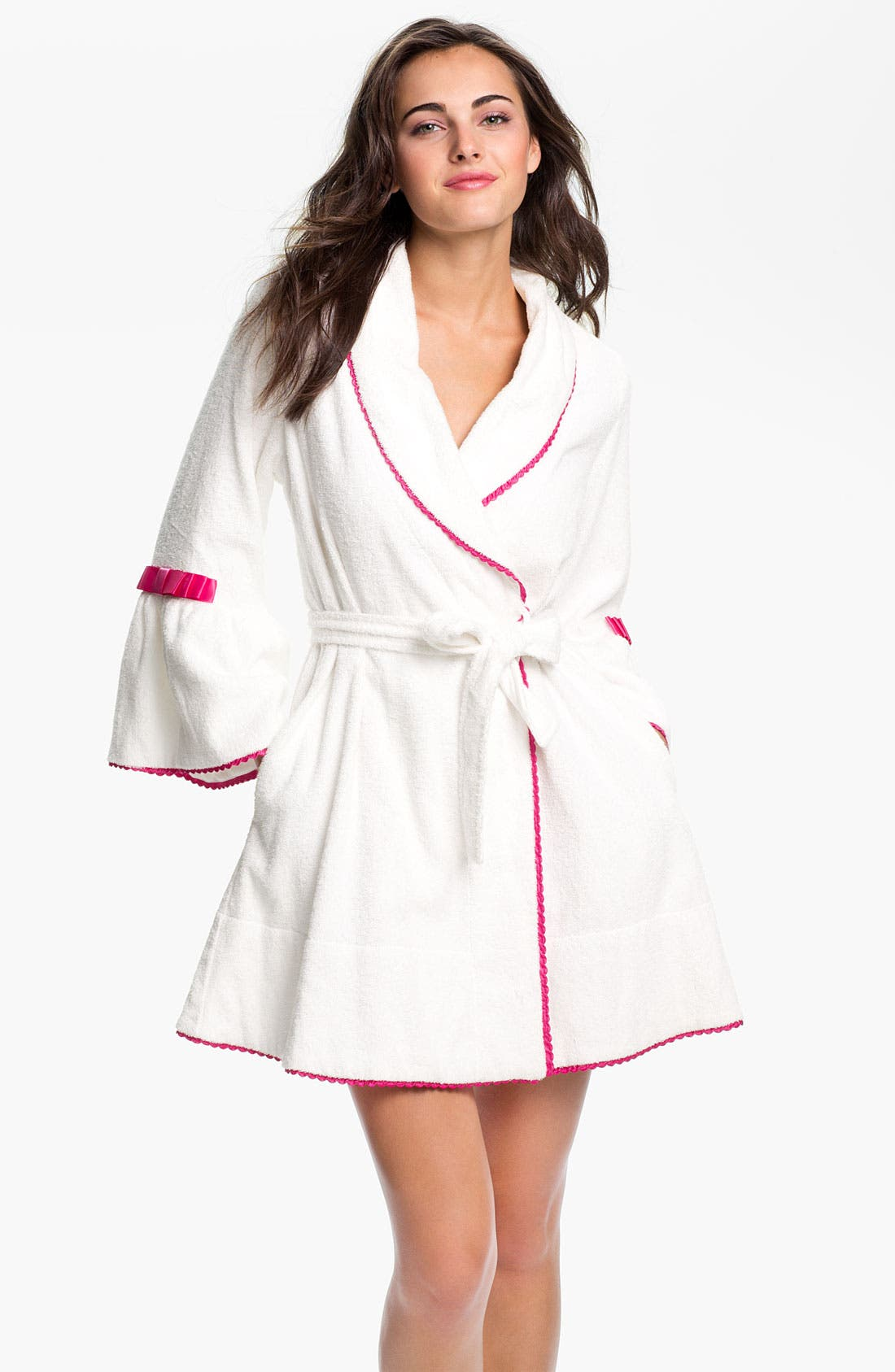 Alternate Image 2  - Betsey Johnson 'Minnie' Terry Robe