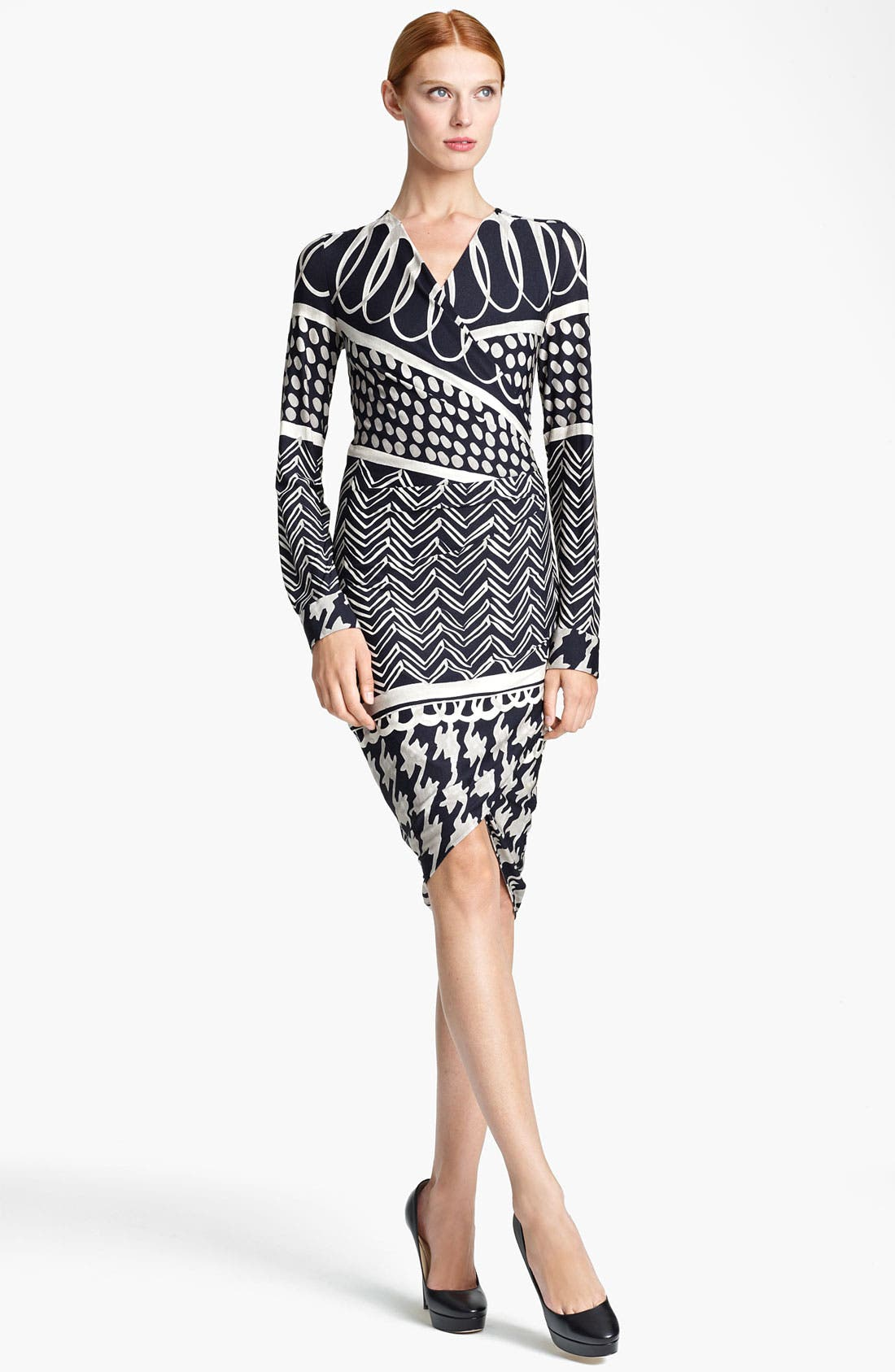 Main Image - Max Mara 'Eneide' Print Jersey Dress