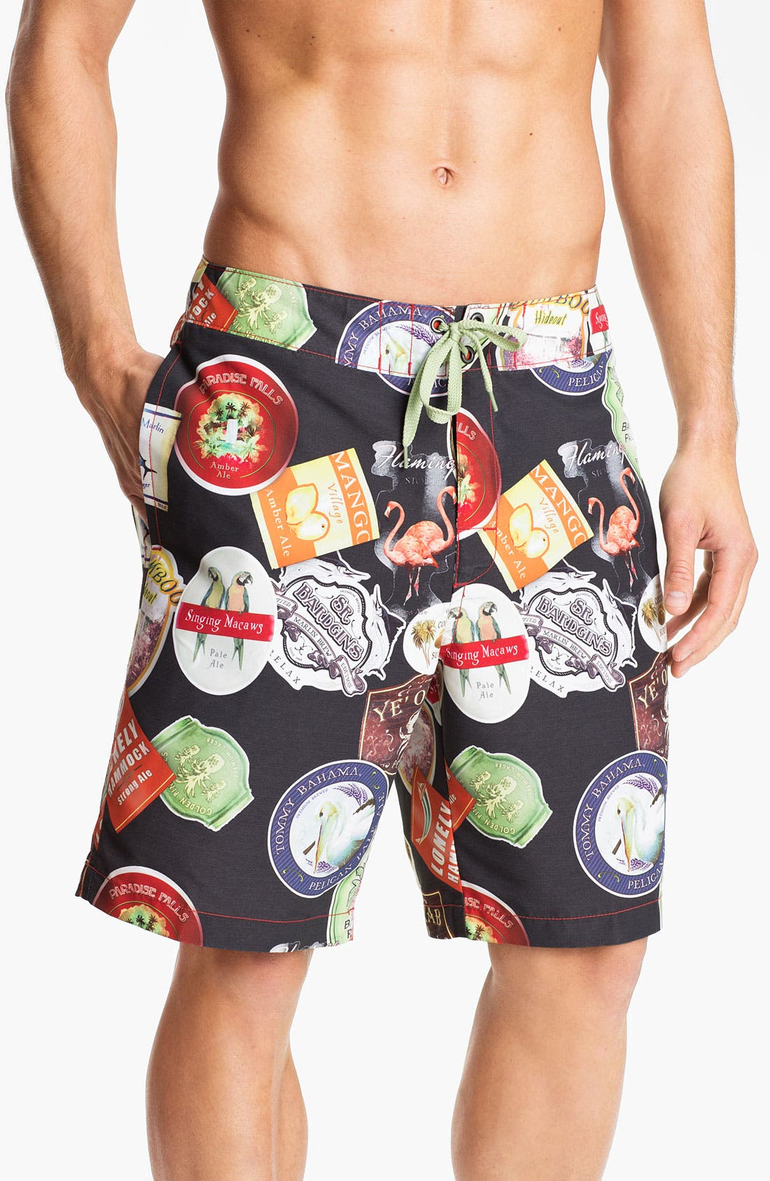 Main Image - Tommy Bahama Relax 'Ale Watching' Board Shorts