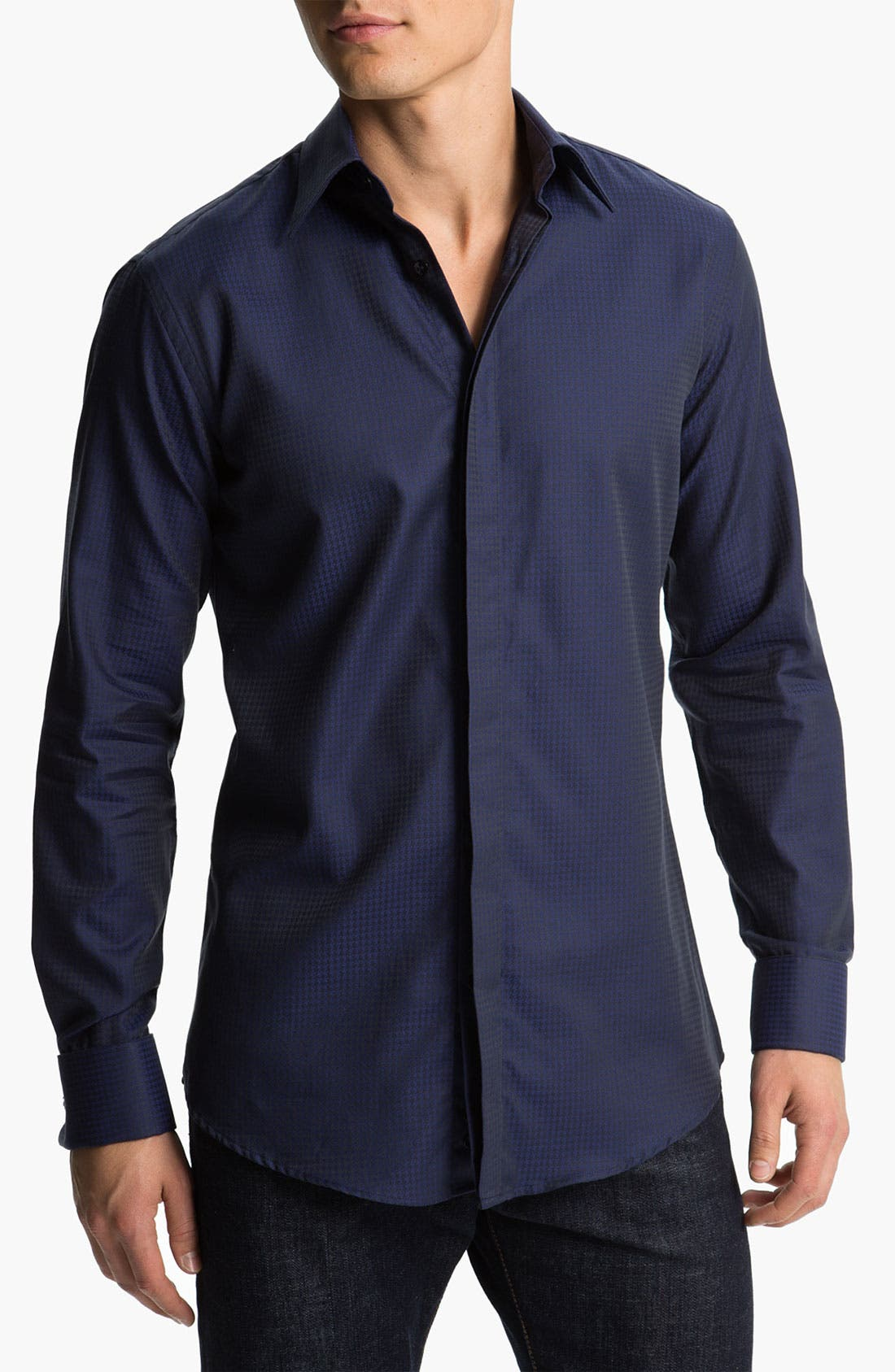 Alternate Image 1 Selected - Versace Woven Sport Shirt