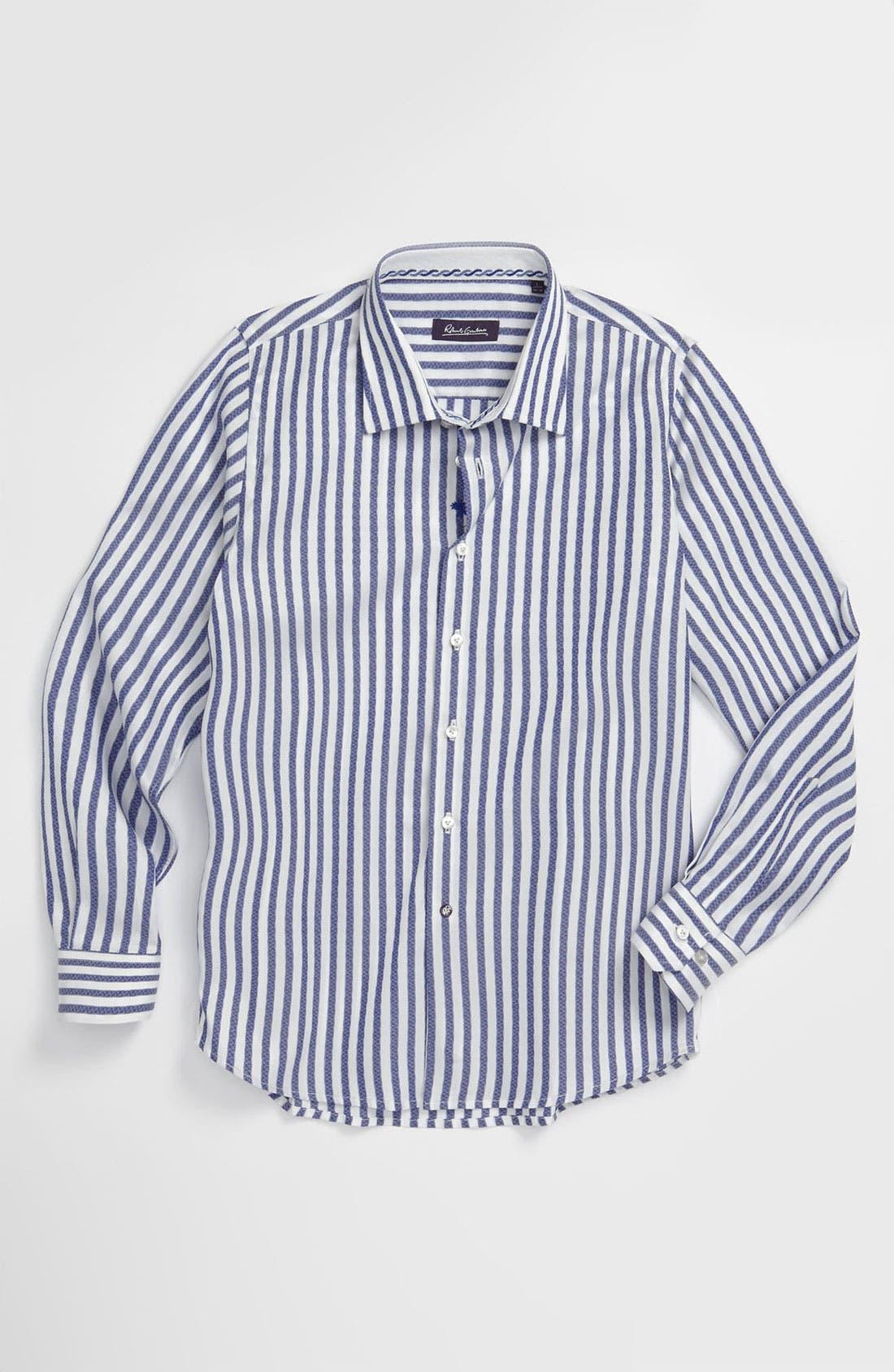 Main Image - Robert Graham 'Parker' Dress Shirt (Big Boys)