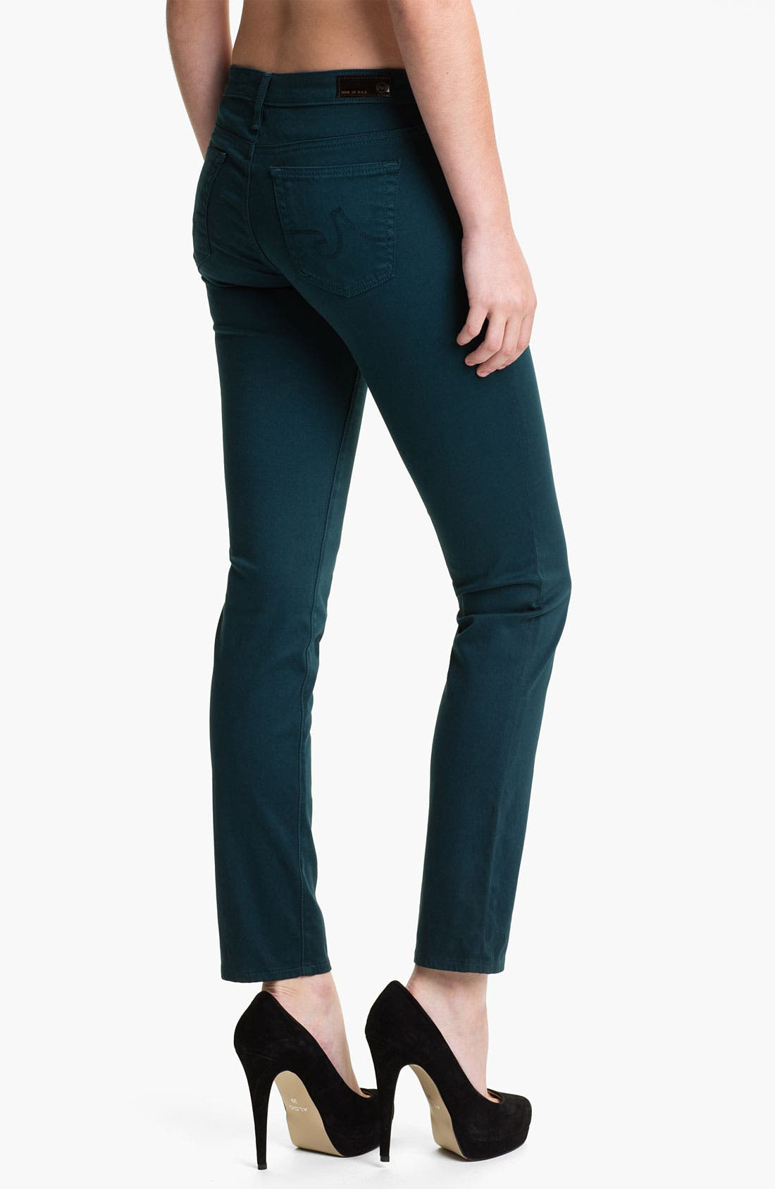 Alternate Image 2  - AG 'Stilt' Skinny Ankle Jeans (Juniper)