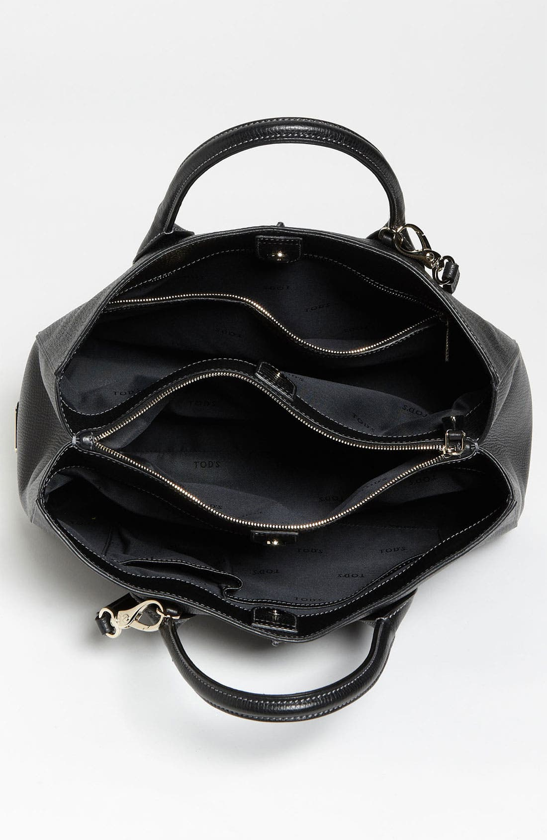 Alternate Image 3  - Tod's 'D-Styling - Medium' Leather Shopper