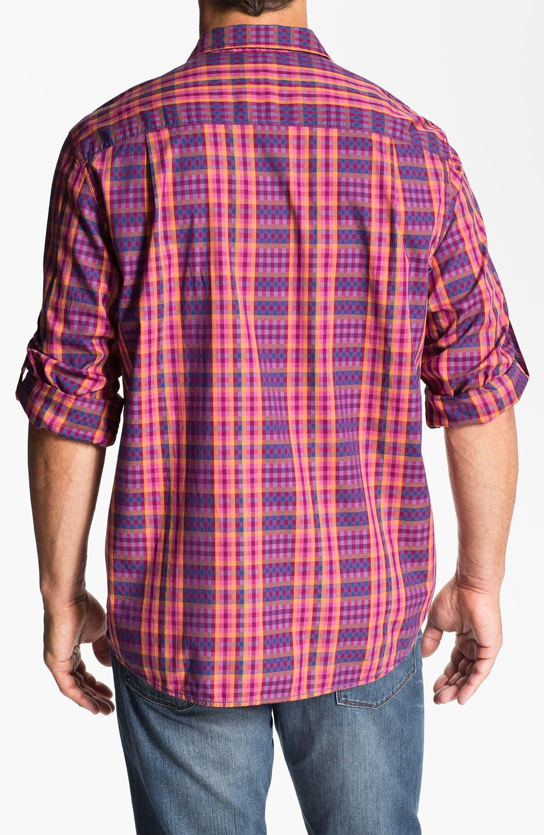 Alternate Image 2  - Tommy Bahama Denim 'Checking In' Sport Shirt