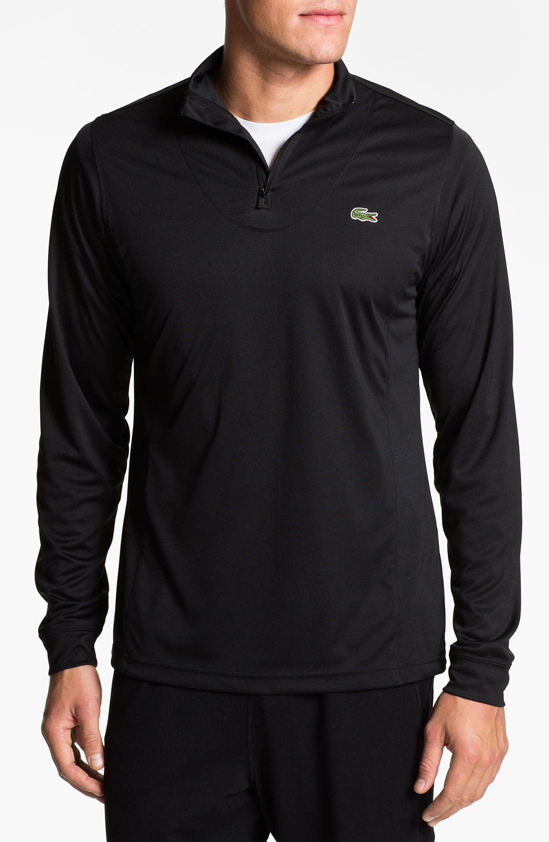 Alternate Image 1 Selected - Lacoste 'Super Dry' Quarter Zip Shirt