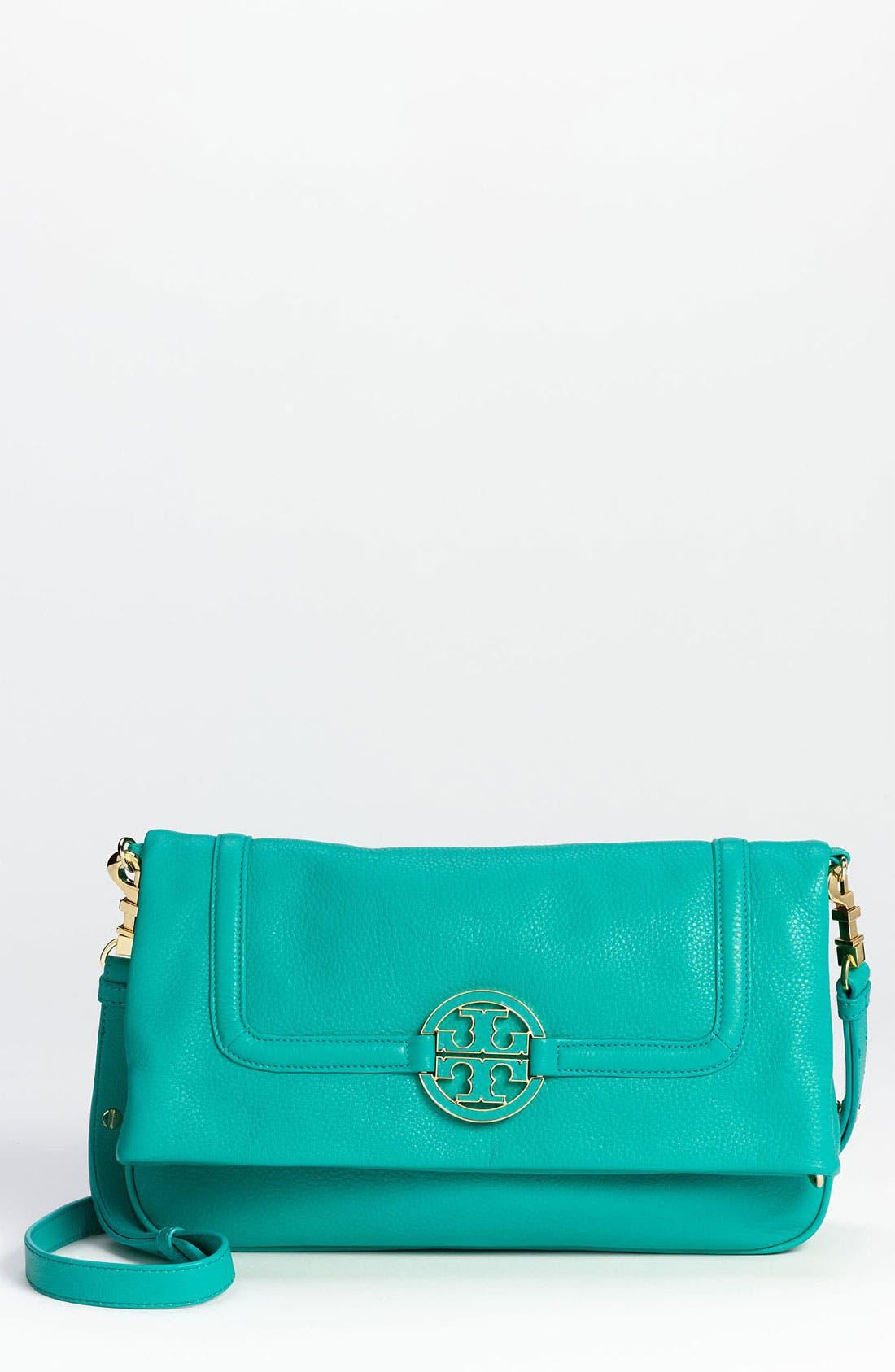 Alternate Image 1 Selected - Tory Burch 'Amanda' Foldover Crossbody Bag