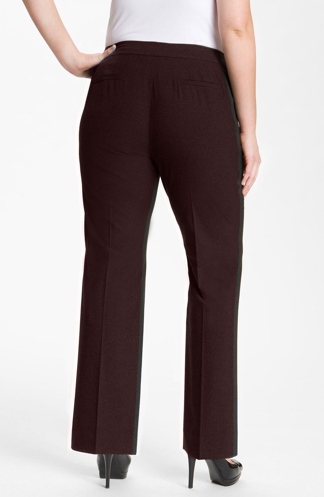 Alternate Image 2  - Sejour 'Ela' Curvy Fit Pants (Plus Size & Petite Plus)