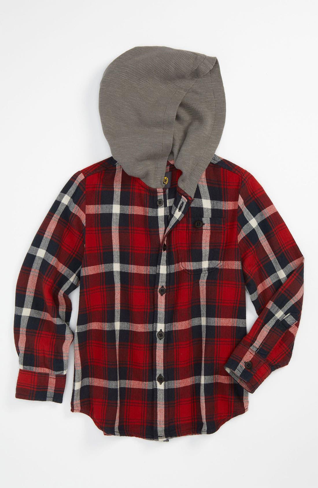 Alternate Image 1 Selected - Pure Stuff 'Hunter' Woven Shirt (Little Boys)