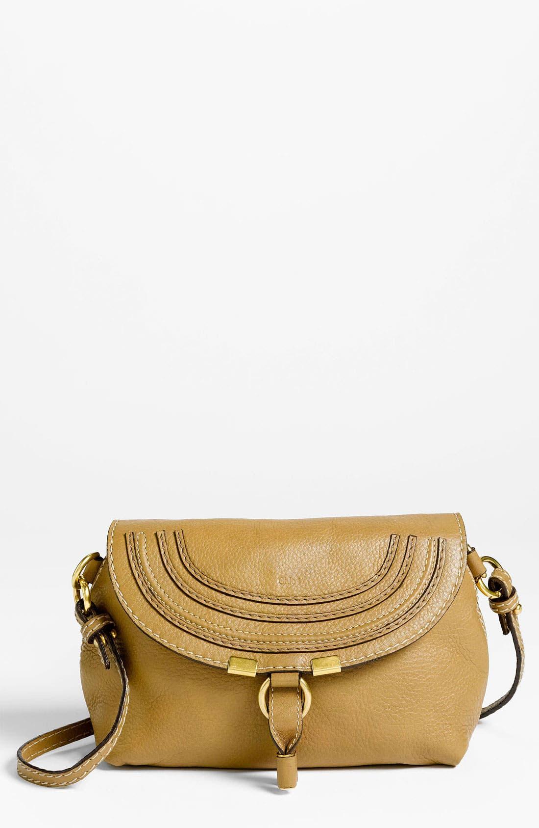 Alternate Image 1 Selected - Chloé 'Marcie' Calfskin Leather Crossbody Bag