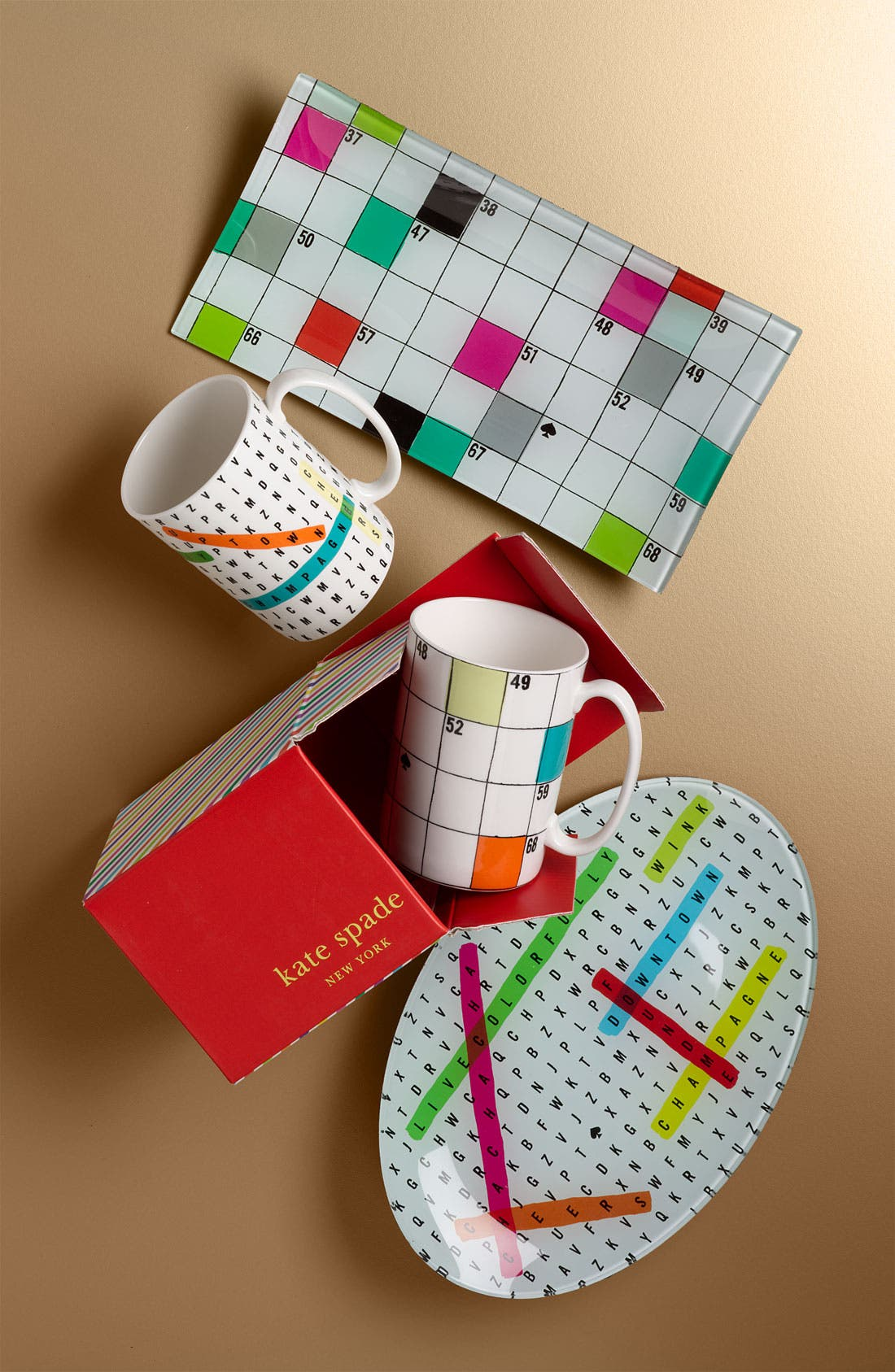 Alternate Image 2  - kate spade new york 'say the word' crossword mug