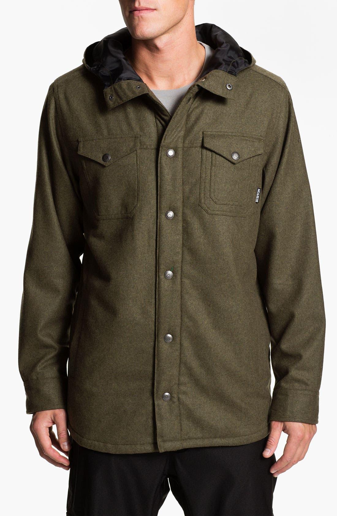 Alternate Image 1 Selected - Burton 'Nelson' Hooded Woven Jacket