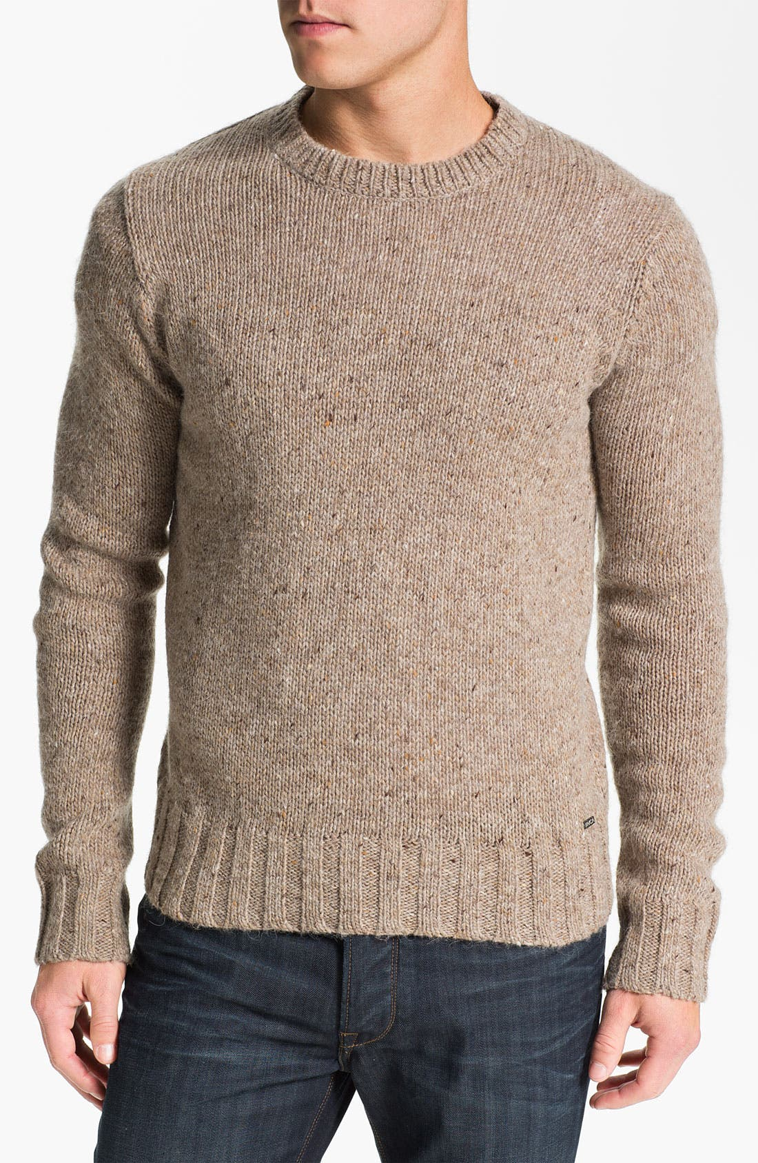 Main Image - RVCA 'Ahab' Crewneck Sweater