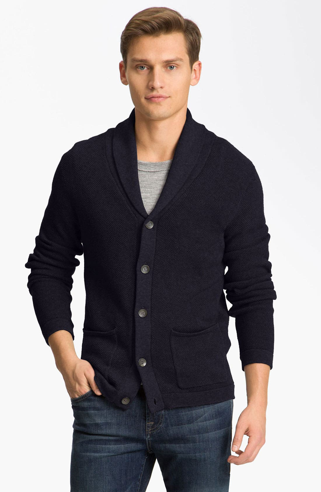 Main Image - rag & bone 'Laga' Shawl Collar Cardigan