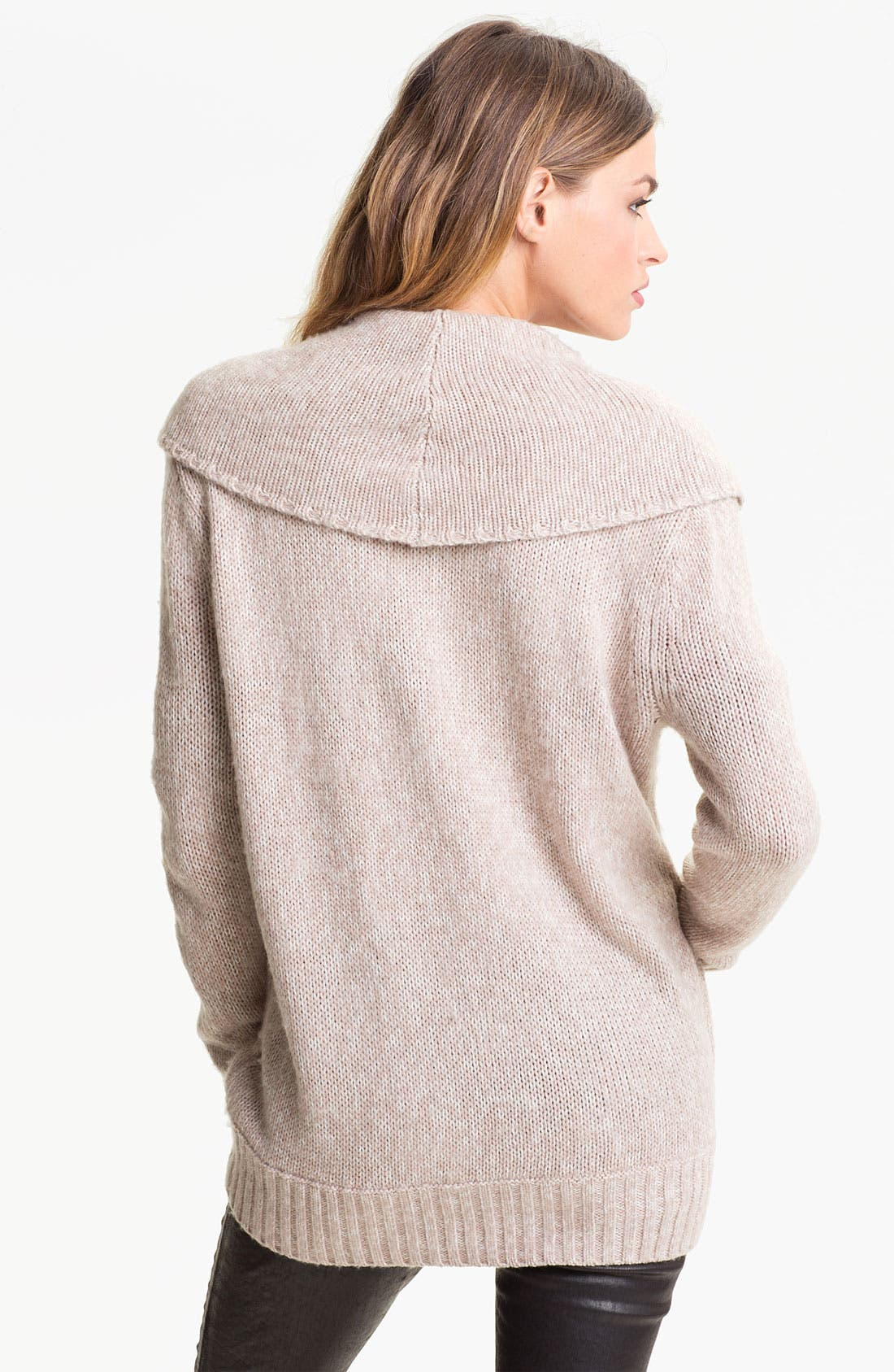 Alternate Image 2  - Hinge® Shawl Collar Cardigan