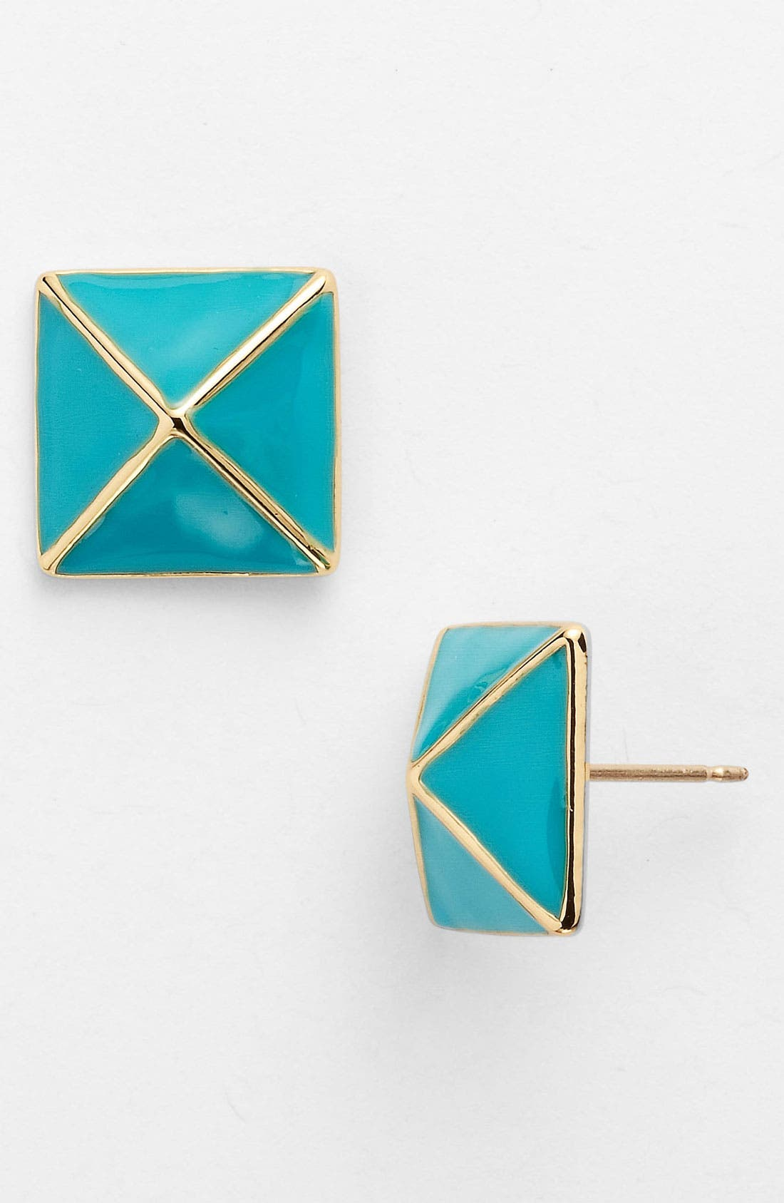 Alternate Image 1 Selected - kate spade new york 'locked in' small stud earrings