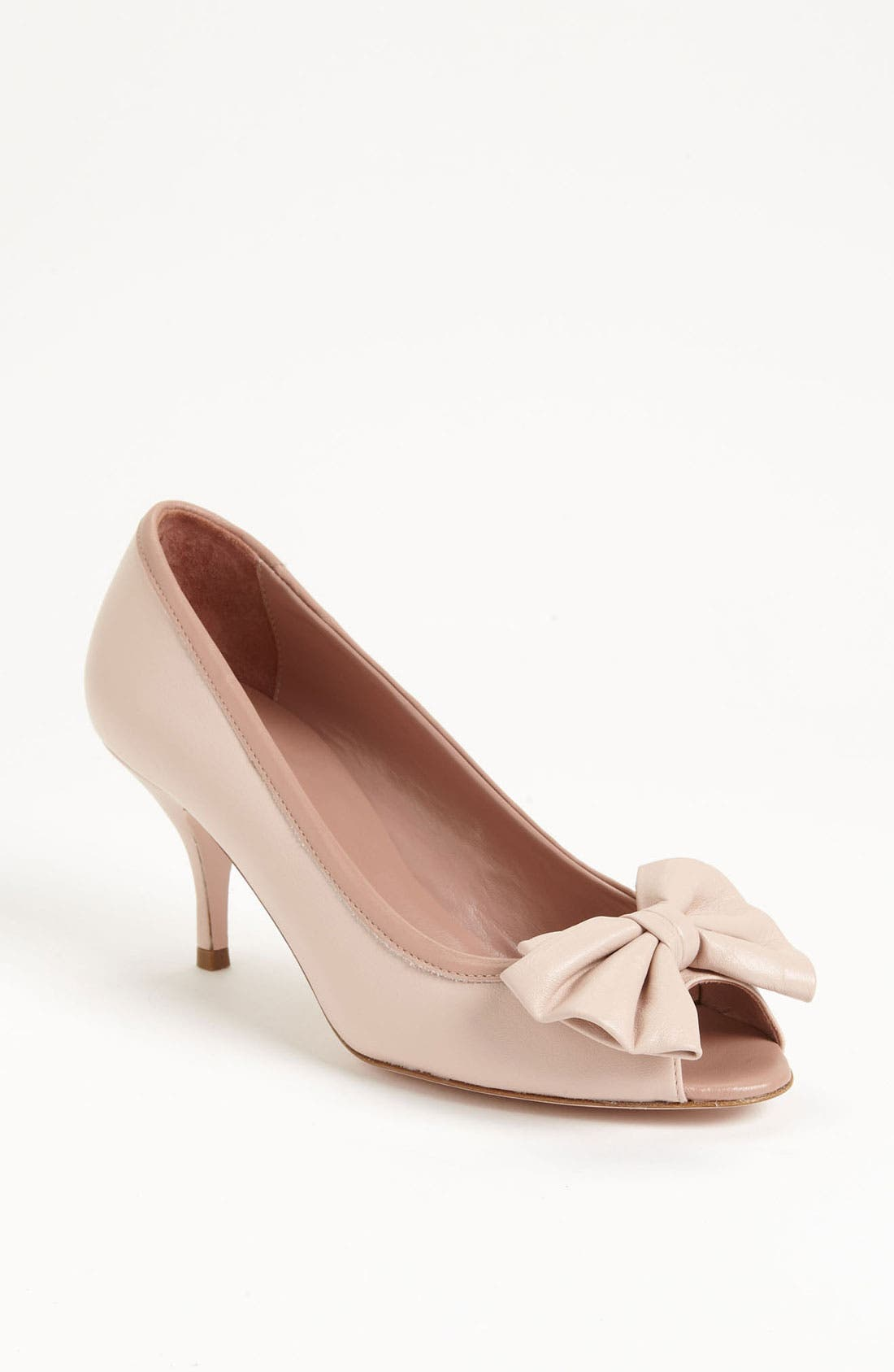 Alternate Image 1 Selected - RED Valentino Peep Toe Pump
