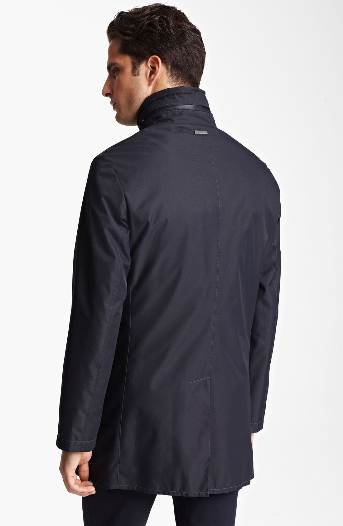 Alternate Image 2  - Armani Collezioni 'Caban New Matrix' Rain Jacket
