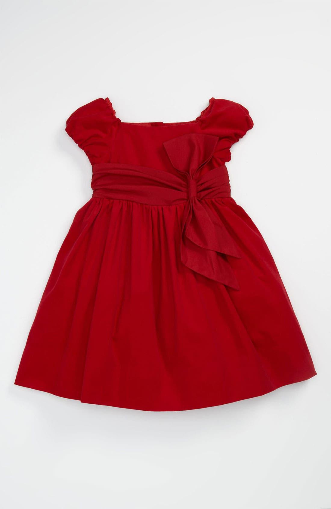 Alternate Image 1 Selected - Ralph Lauren Corduroy Party Dress (Toddler)