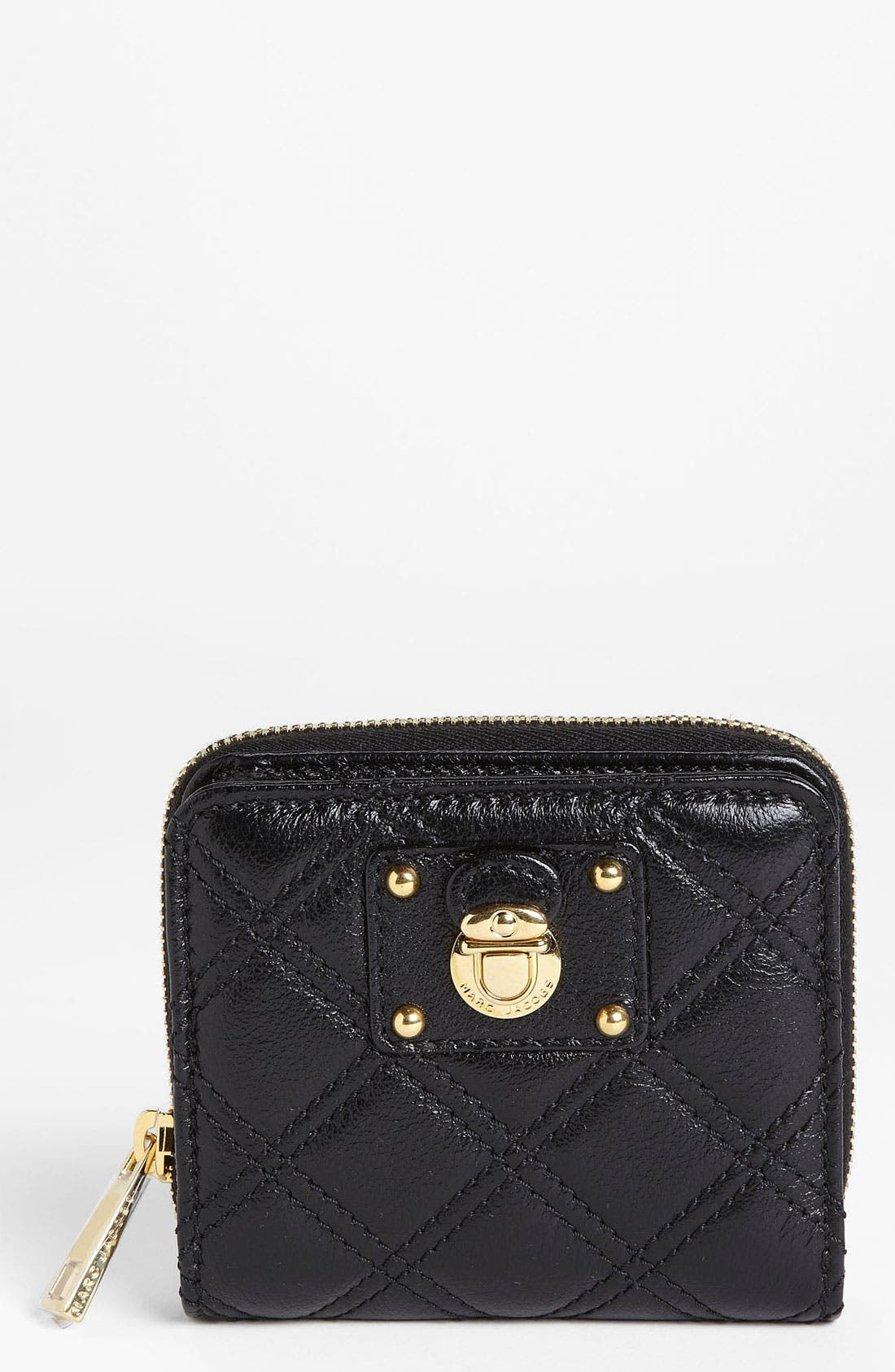 Main Image - MARC JACOBS 'Quilting Anabela' French Wallet