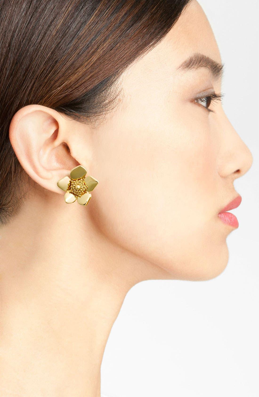 Alternate Image 2  - kate spade new york 'bloomspot' stud earrings