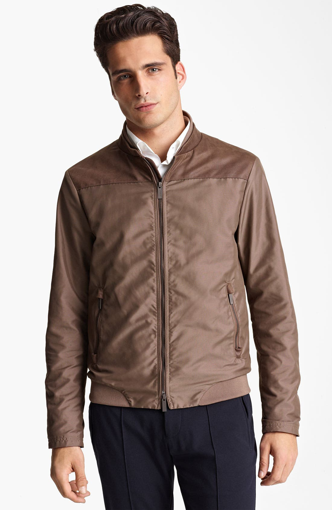 Alternate Image 1 Selected - Armani Collezioni Lightweight Jacket