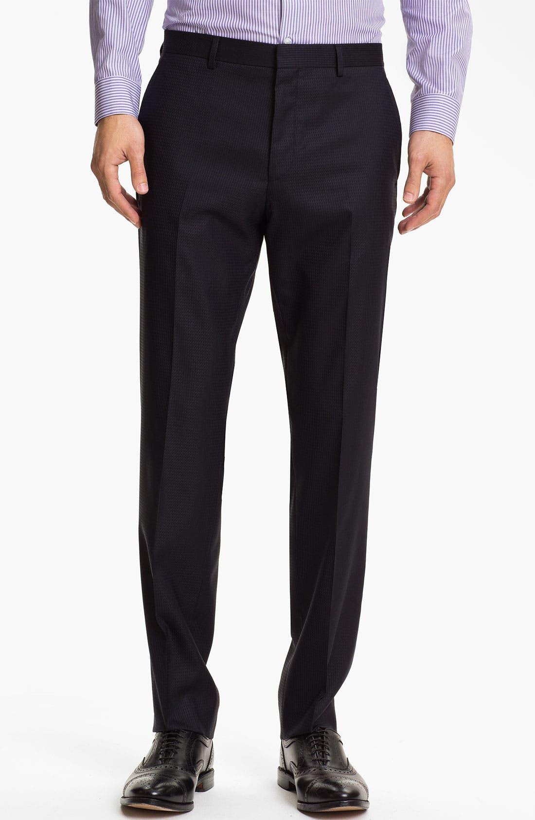 Alternate Image 4  - HUGO 'Aeron/Hamen' Extra Trim Fit Suit