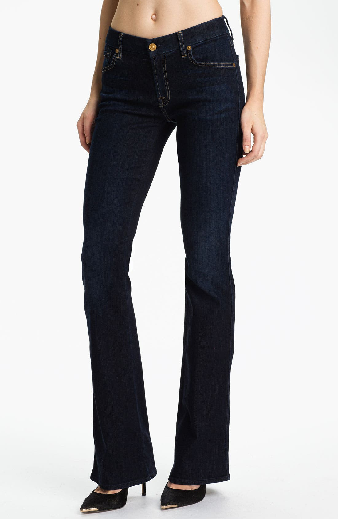 Main Image - 7 For All Mankind® 'Kimmie' Bootcut Jeans (Red Cast Clean)