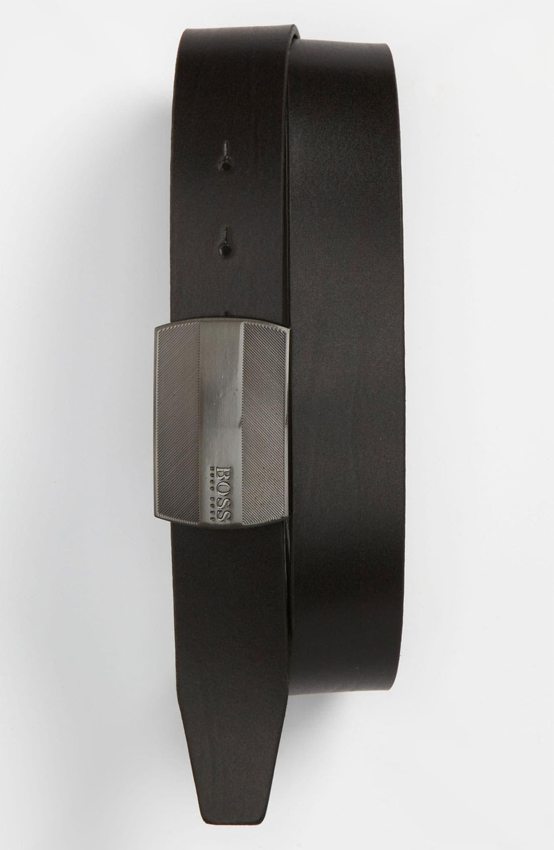 Alternate Image 1 Selected - BOSS Black 'Salko' Belt
