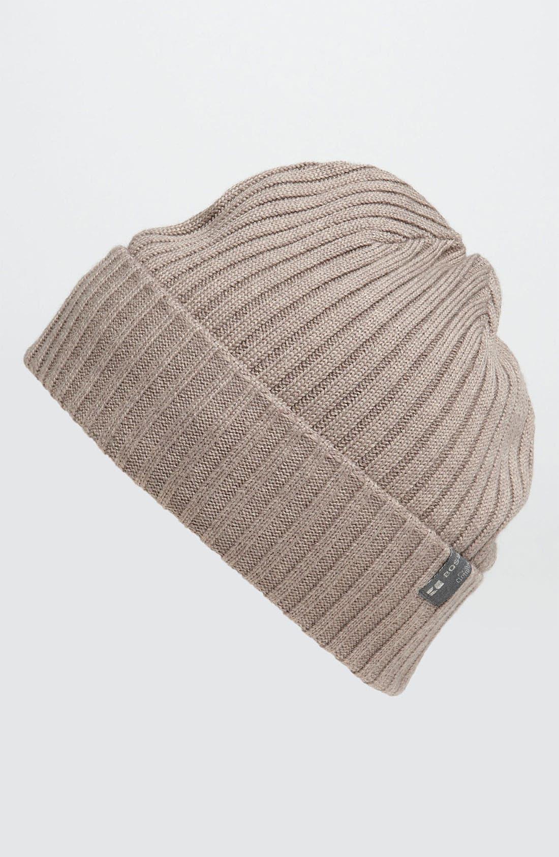 Alternate Image 1 Selected - BOSS Orange Wool Blend Knit Cap