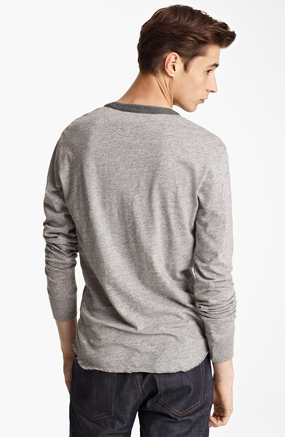 Alternate Image 2  - Grayers Trim Fit Henley T-Shirt