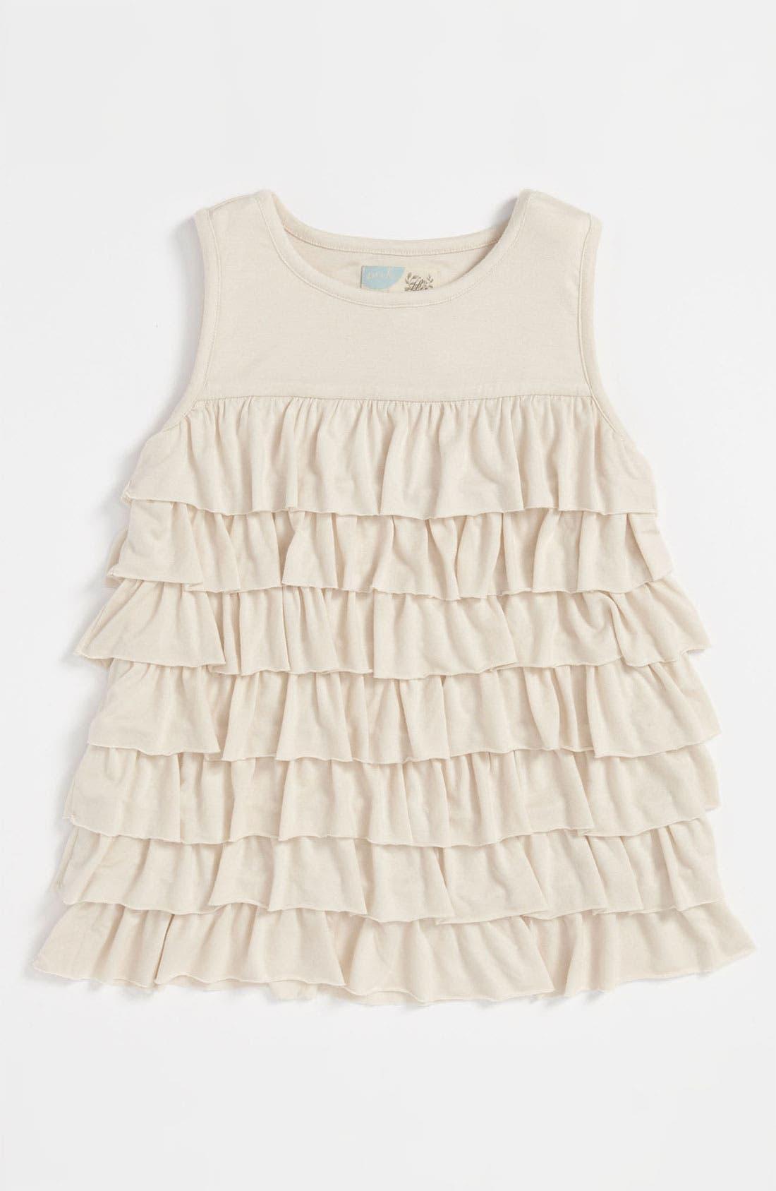 Alternate Image 1 Selected - Peek 'Myrna' Top (Toddler, Little Girls & Big Girls)
