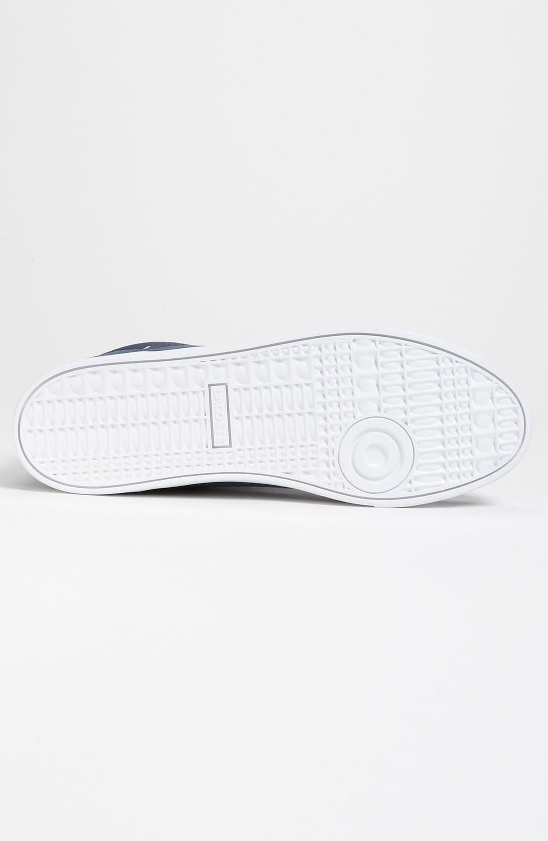 Alternate Image 4  - Lacoste 'Crosier Sail Mid' Sneaker