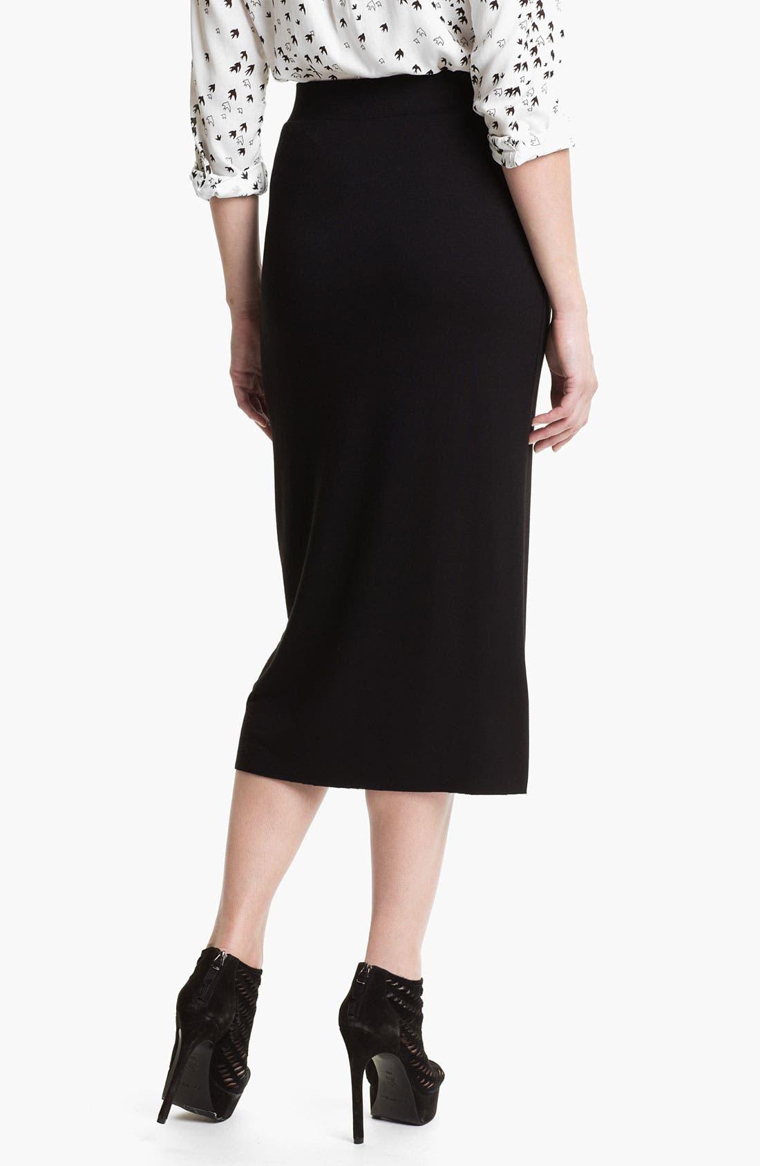 Alternate Image 2  - Kensie Midi Skirt