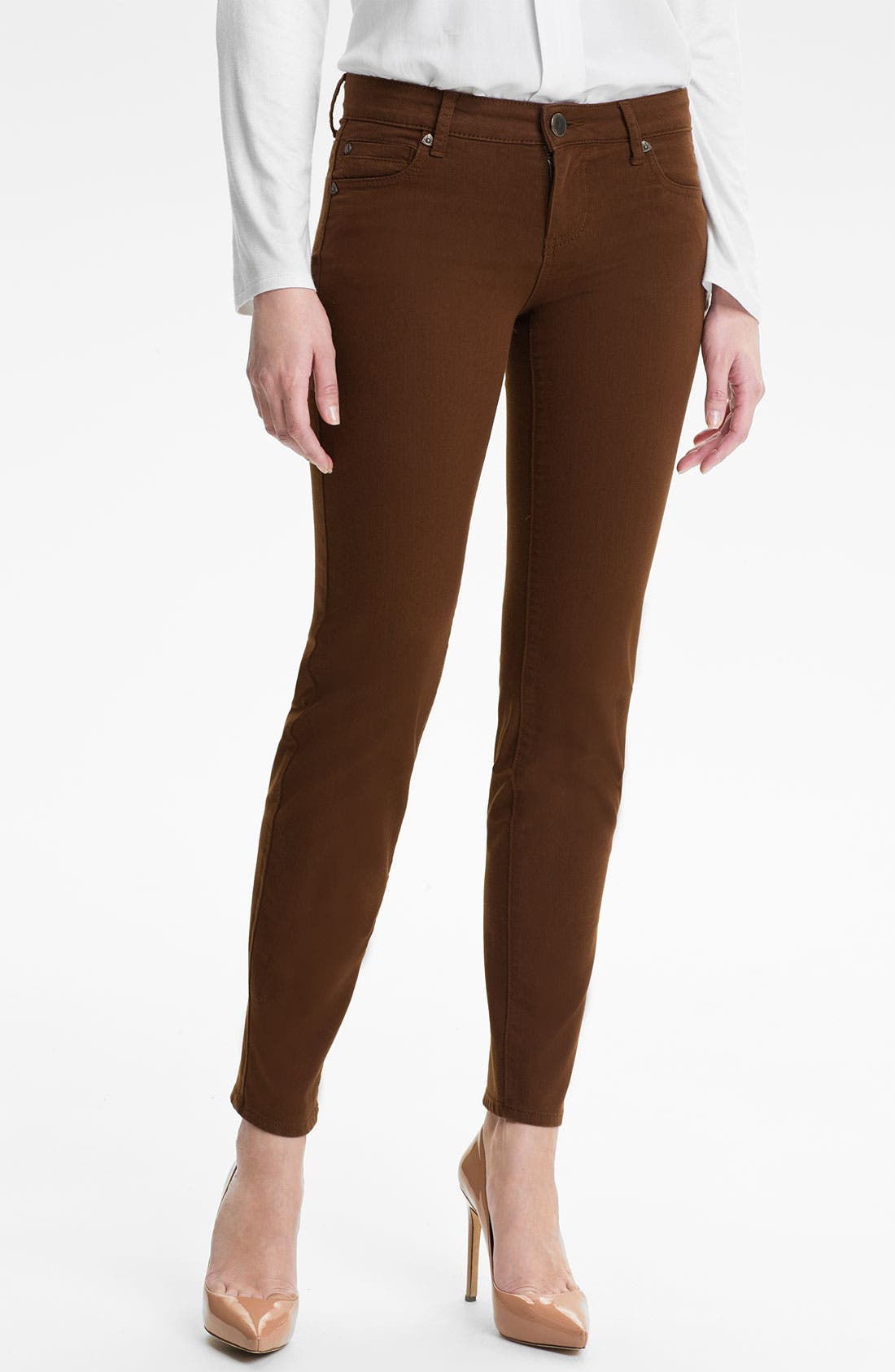 Alternate Image 1 Selected - KUT from the Kloth 'Diana' Colored Skinny Jeans