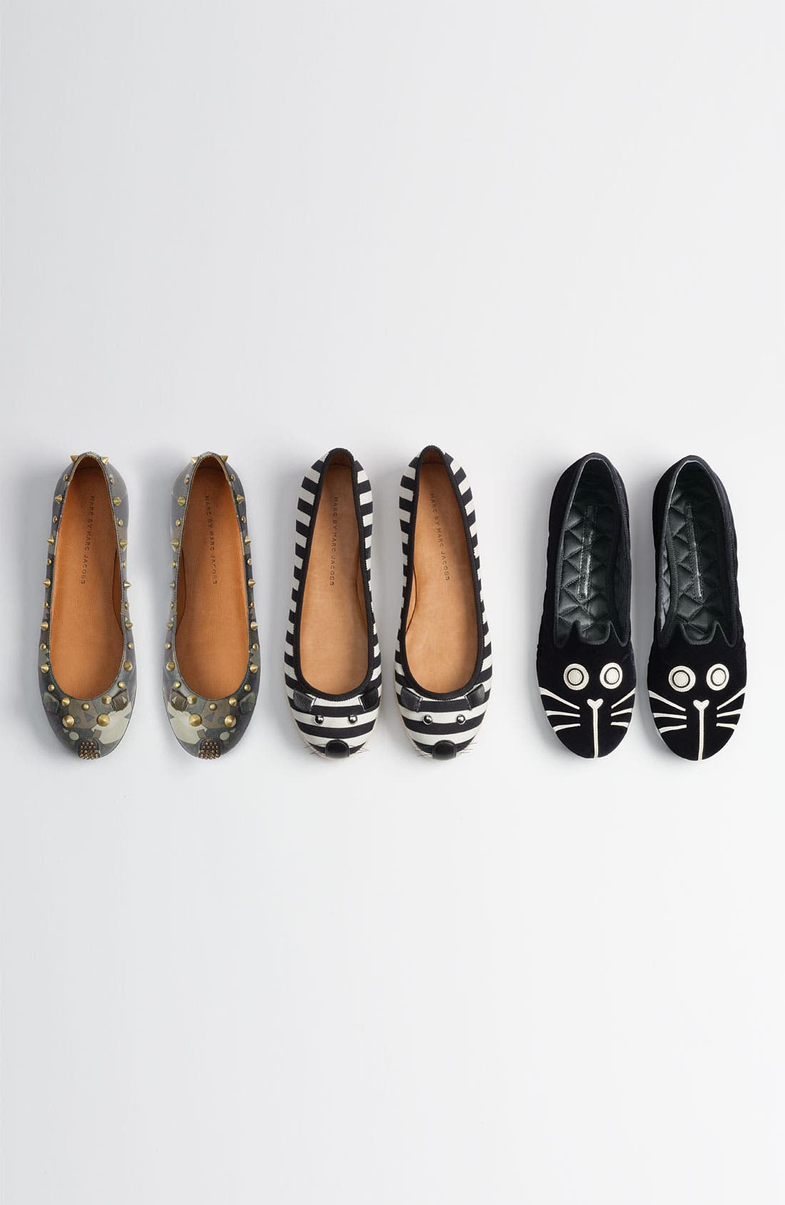 Alternate Image 5  - MARC BY MARC JACOBS 'Mouse' Ballerina Flat