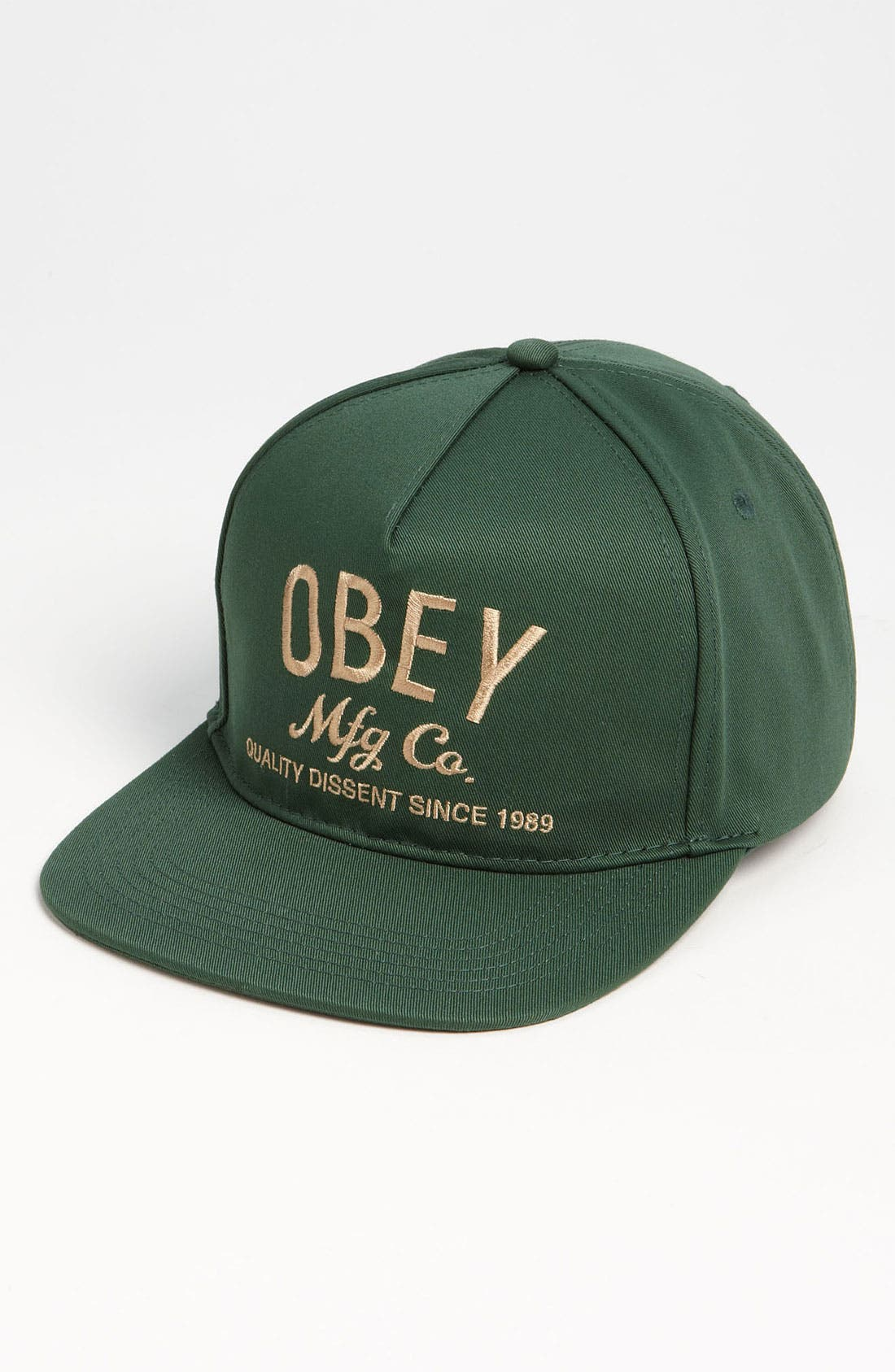 Main Image - Obey 'Mfg Co.' Snapback Cap