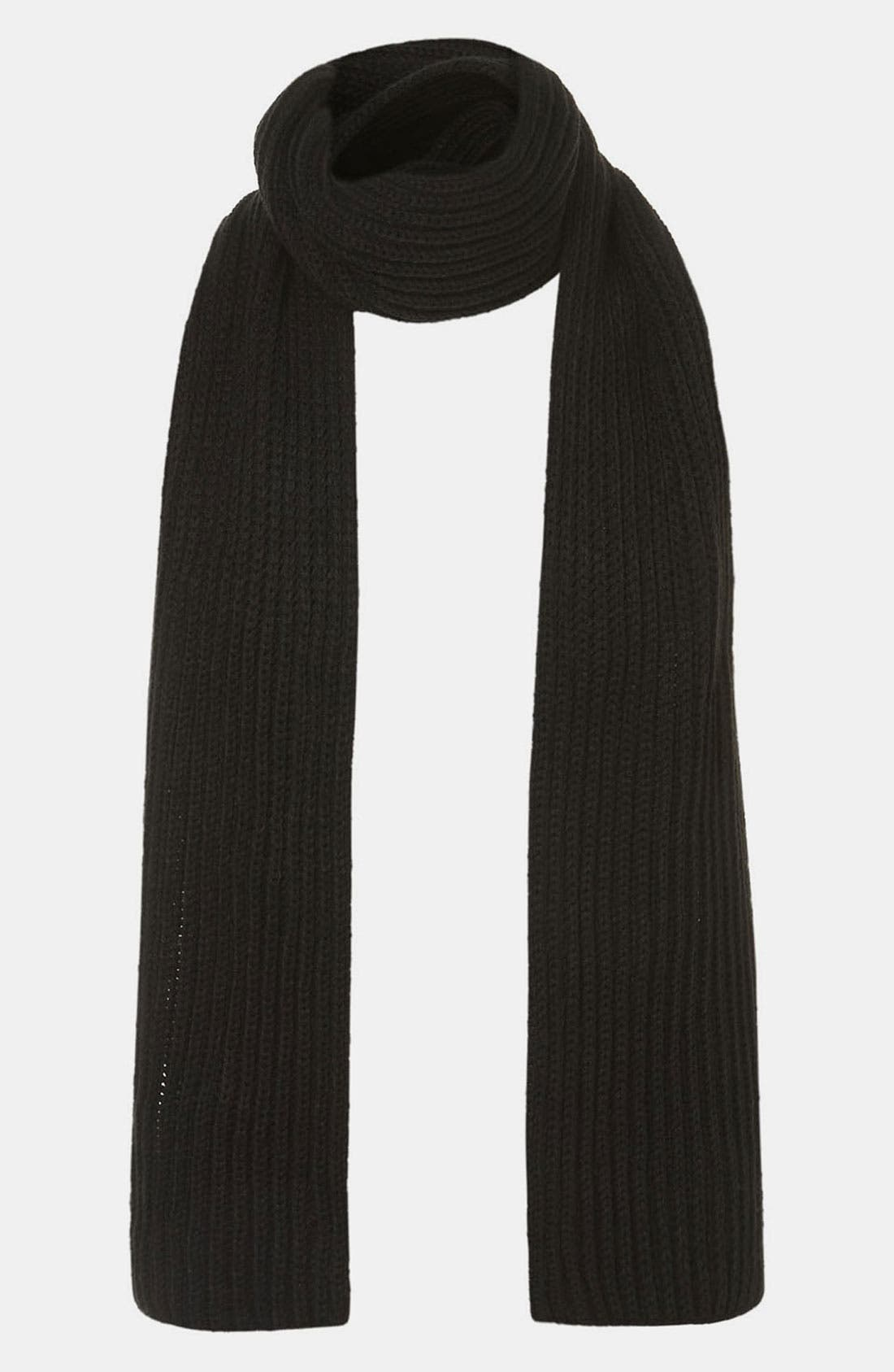 Alternate Image 1 Selected - Topman Knit Scarf