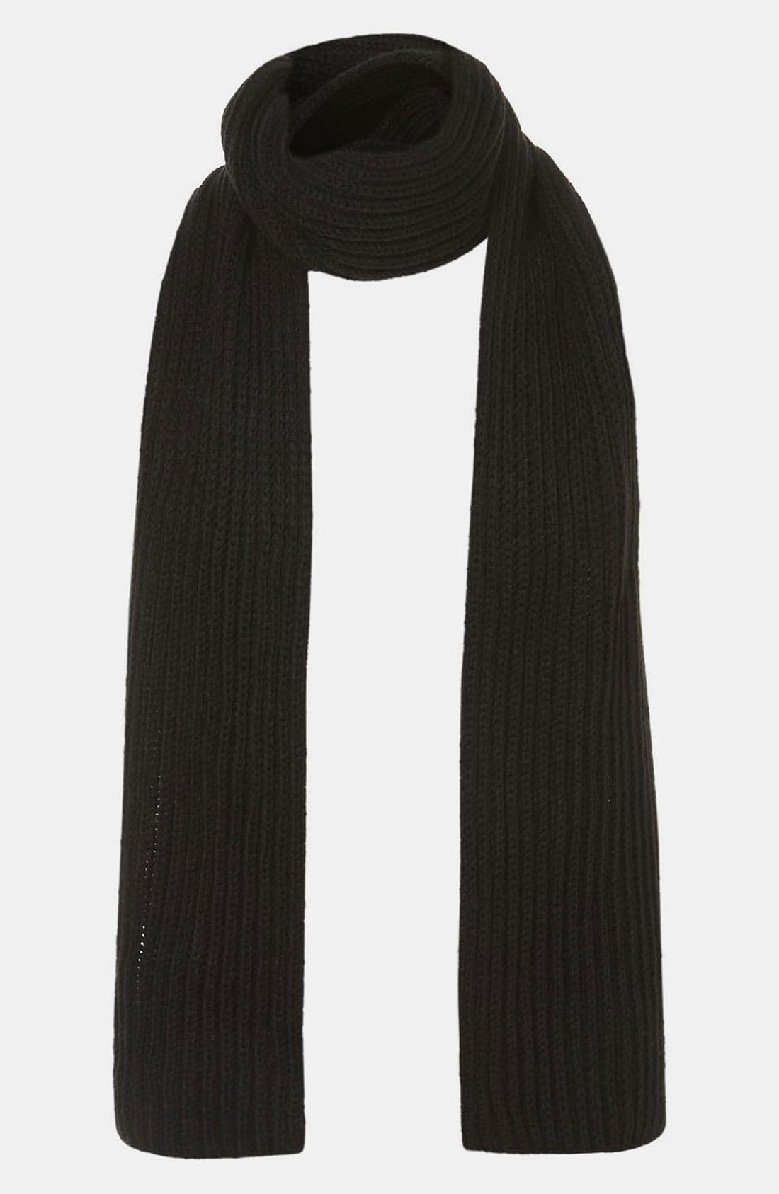 Main Image - Topman Knit Scarf