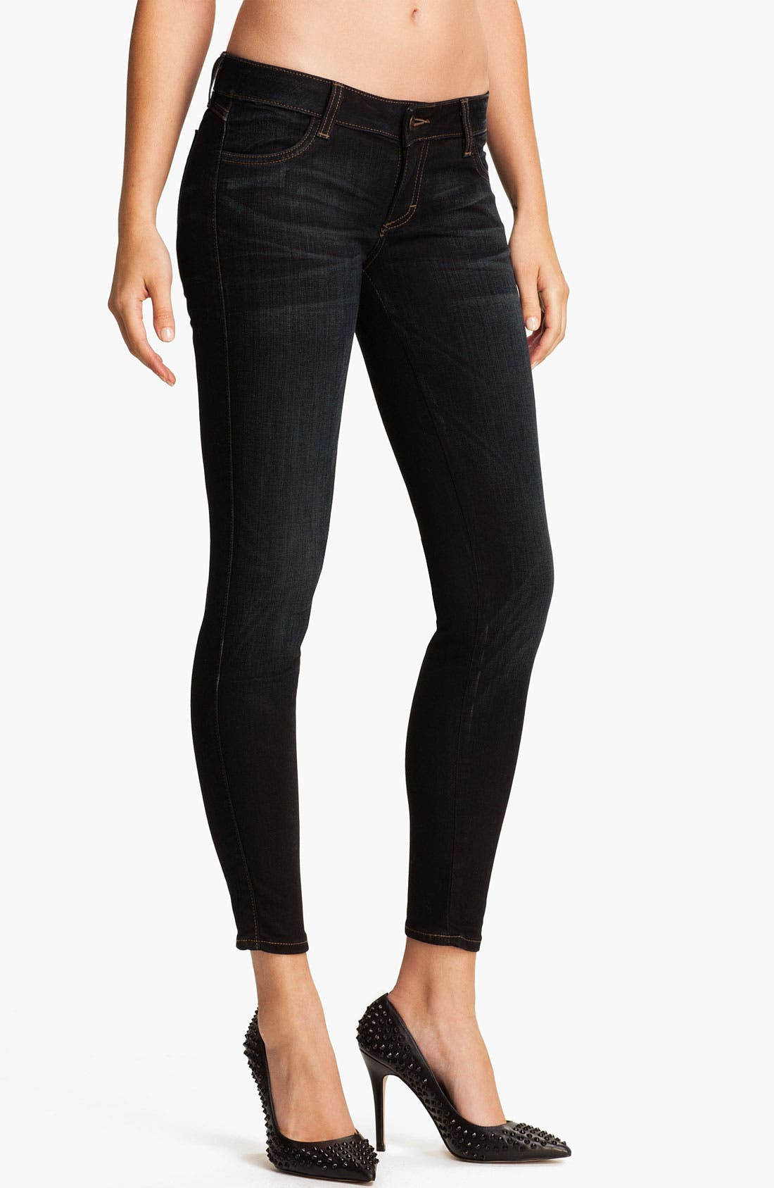 Alternate Image 1 Selected - Siwy 'Hannah' Slim Crop Stretch Jeans (Ride)