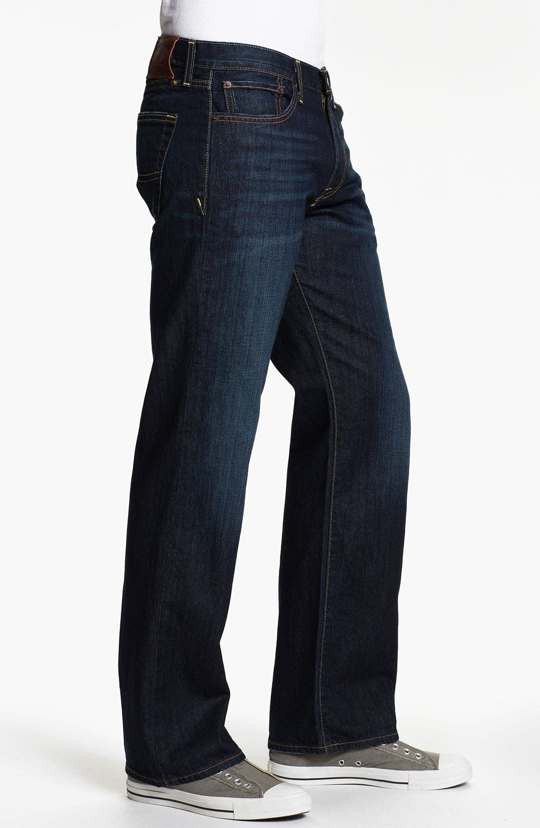 Alternate Image 3  - Lucky Brand '361 Vintage' Straight Leg Jeans (Ol' Oklahoma)