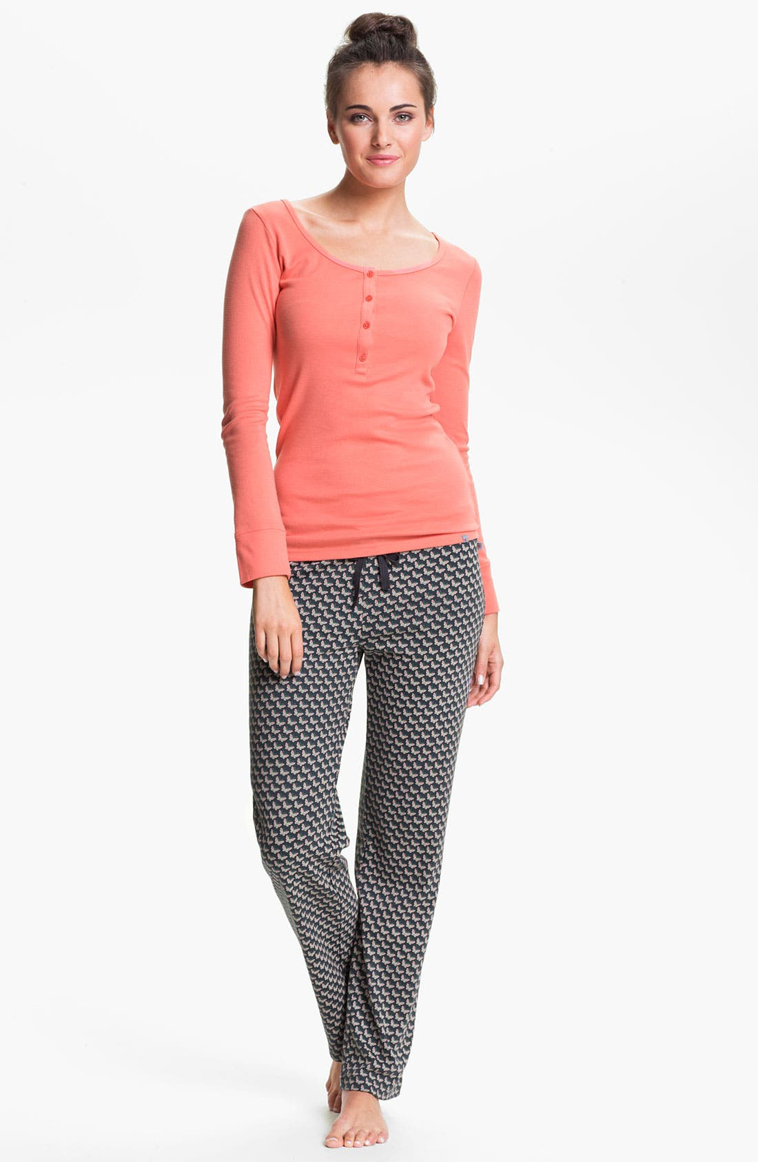 Alternate Image 4  - Jane & Bleecker New York Knit Lounge Pants