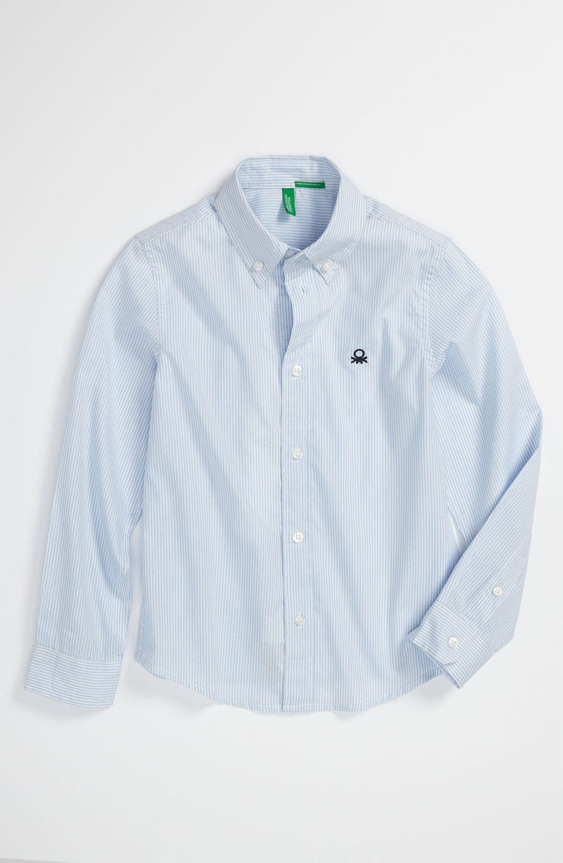 Alternate Image 1 Selected - United Colors of Benetton Kids Woven Shirt (Little Boys & Big Boys)