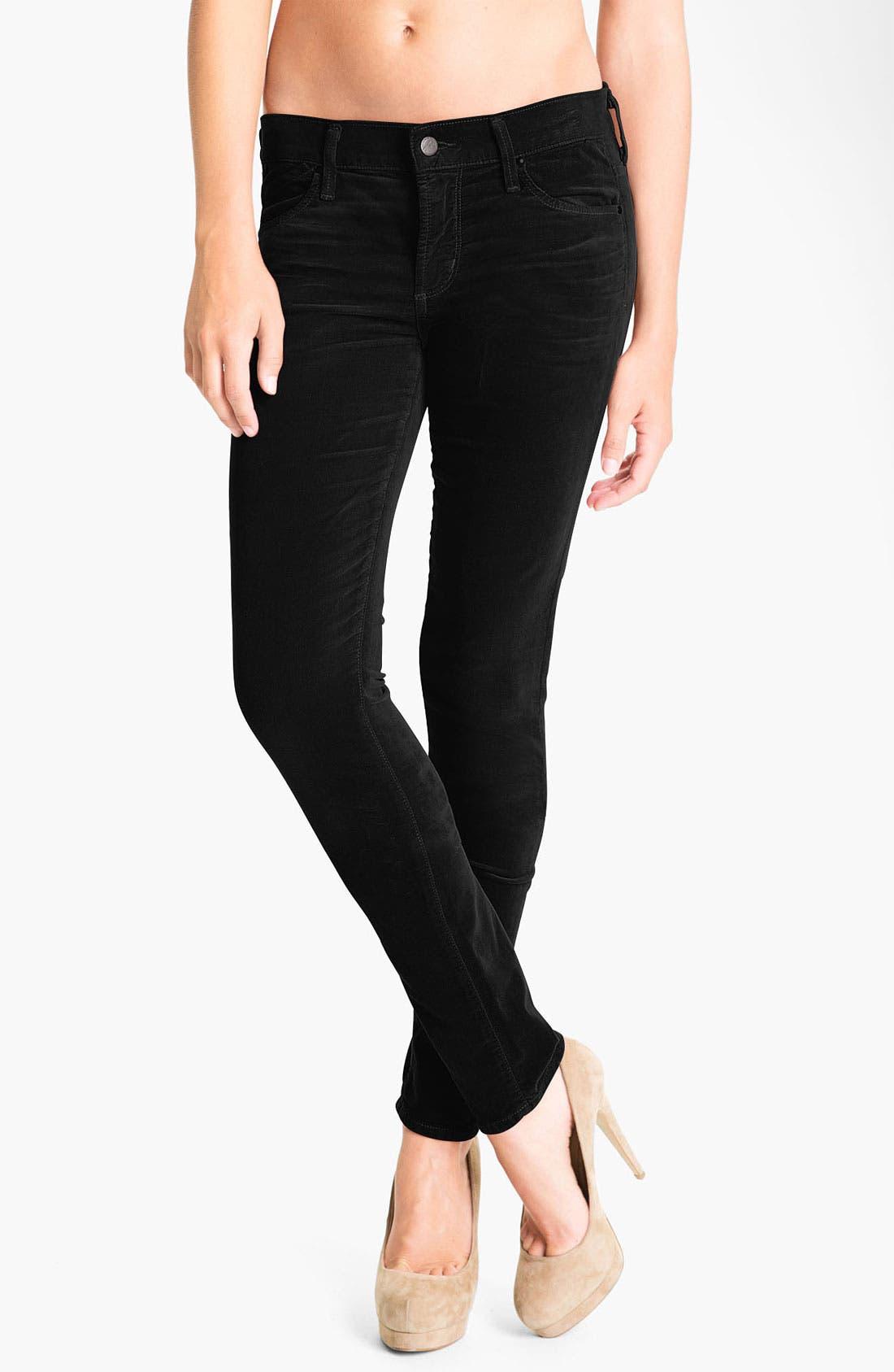 Alternate Image 1 Selected - Citizens of Humanity Skinny Velvet Pants